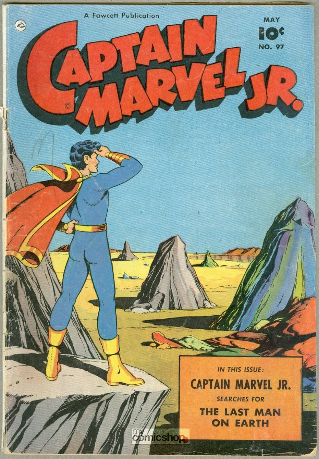 Captain Marvel, Jr. issue 97 - Page 1