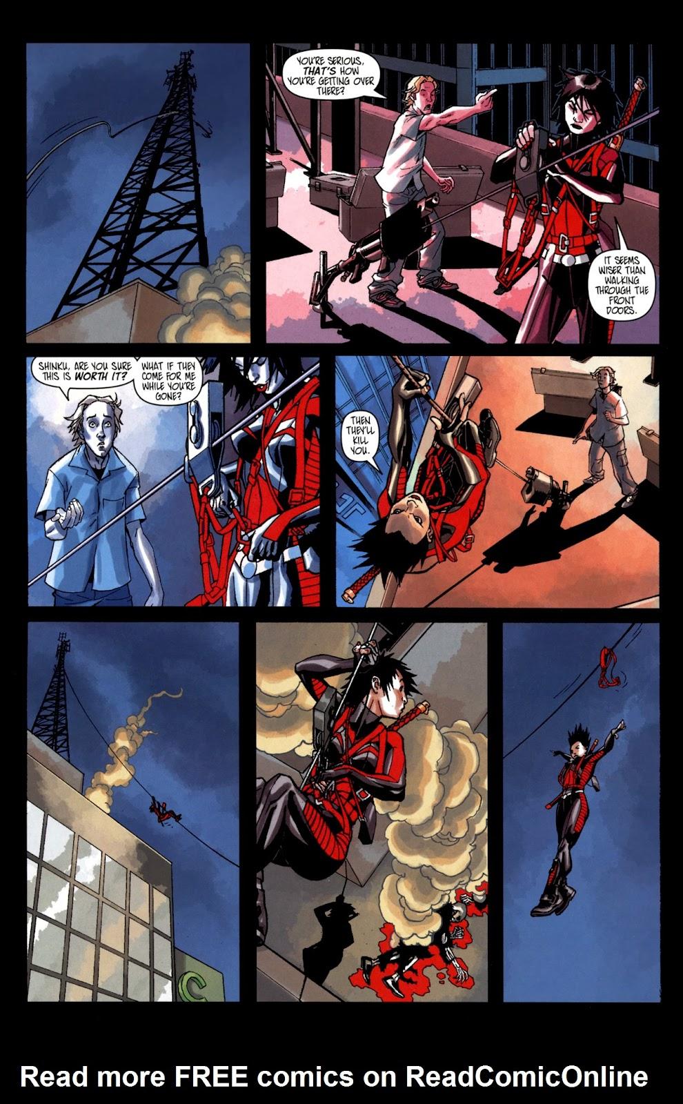 Read online Shinku comic -  Issue #2 - 9