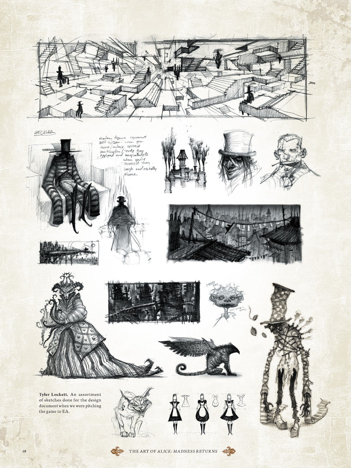 Read online The Art of Alice: Madness Returns comic -  Issue # TPB (Part 1) - 12
