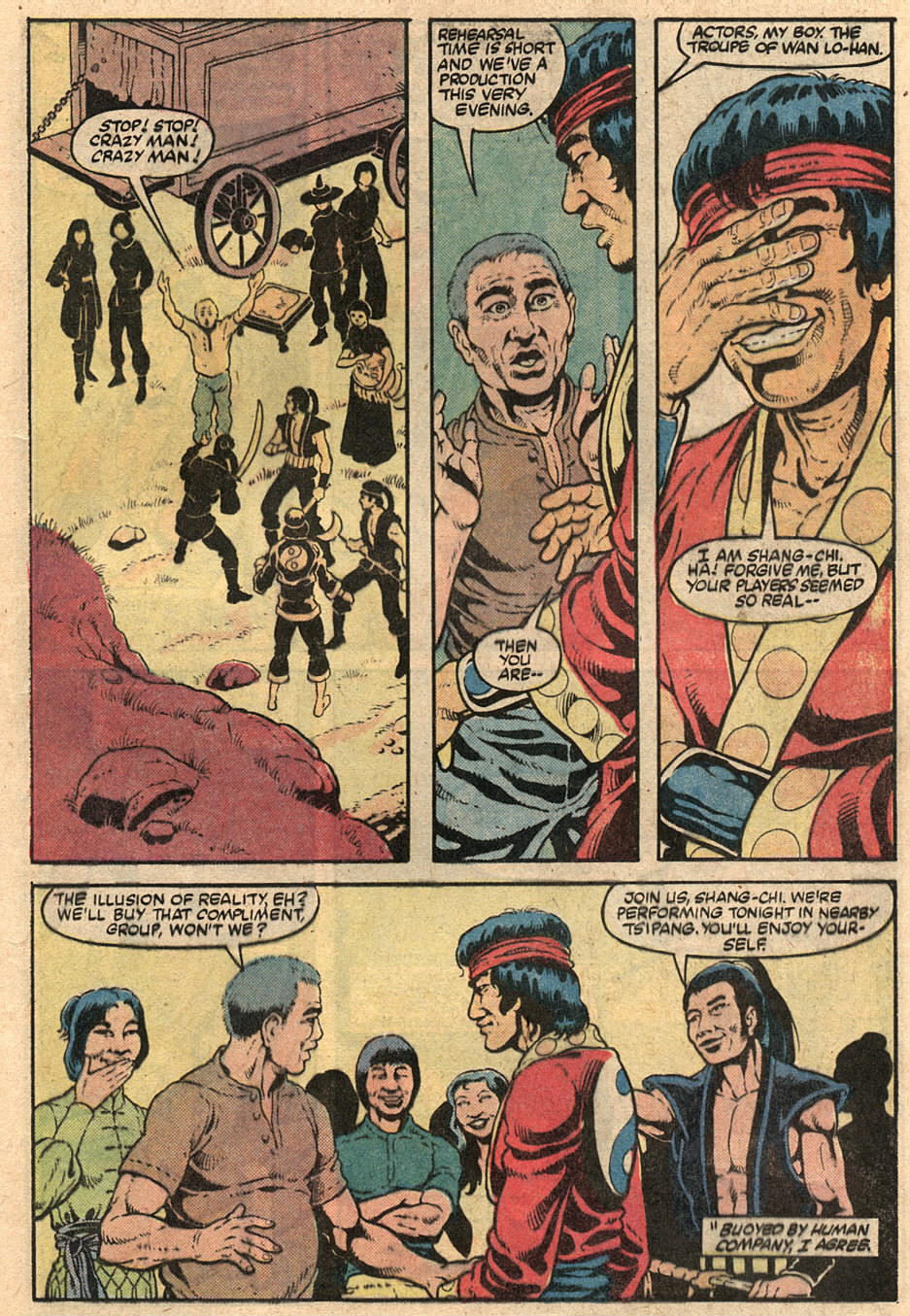 Read online Master of Kung Fu (1974) comic -  Issue #125 - 12