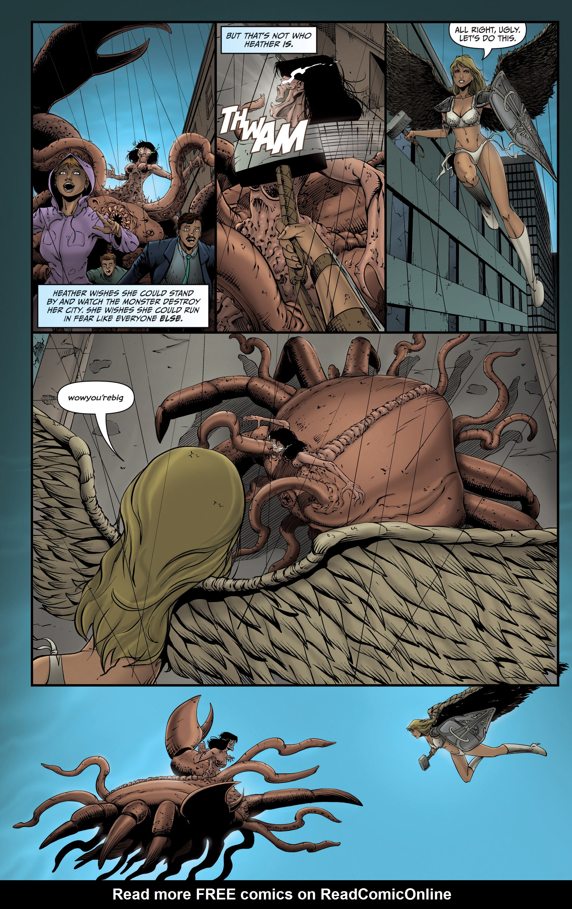 Read online Grimm Fairy Tales presents Grimm Universe comic -  Issue # TPB - 49