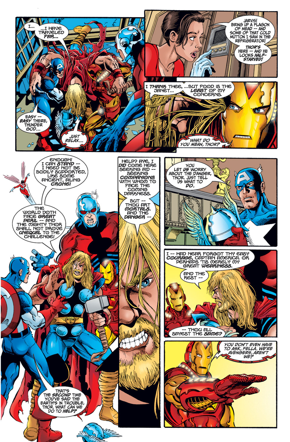 Read online Avengers (1998) comic -  Issue #1 - 13