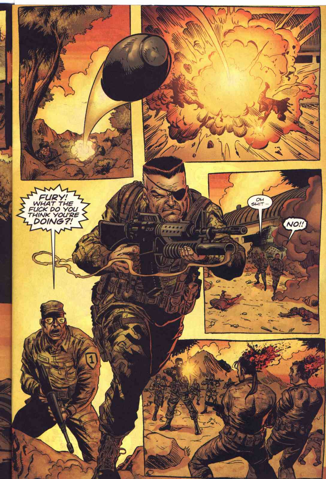 Read online Fury comic -  Issue #1 - 4