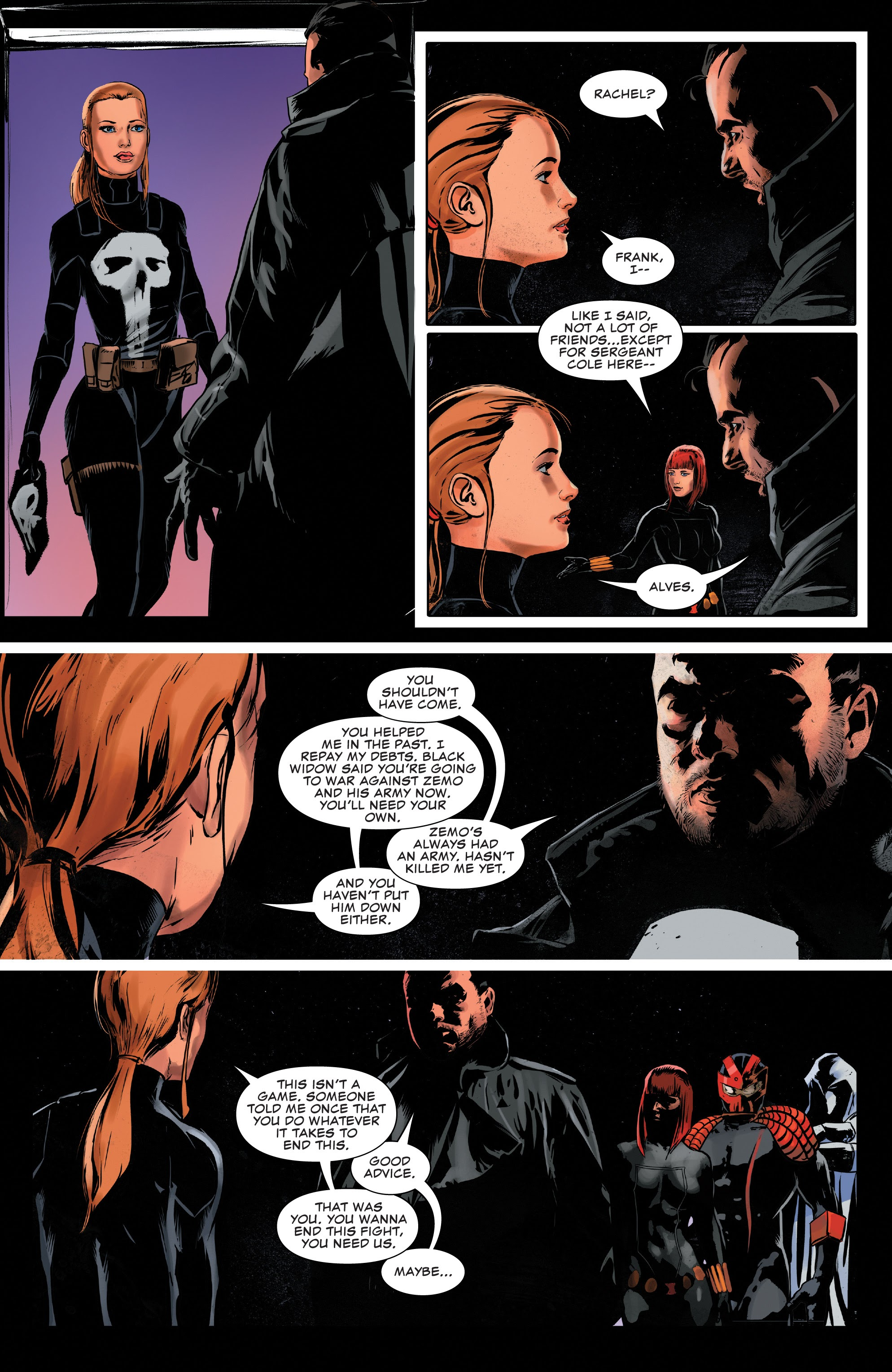 Read online The Punisher (2018) comic -  Issue #14 - 18