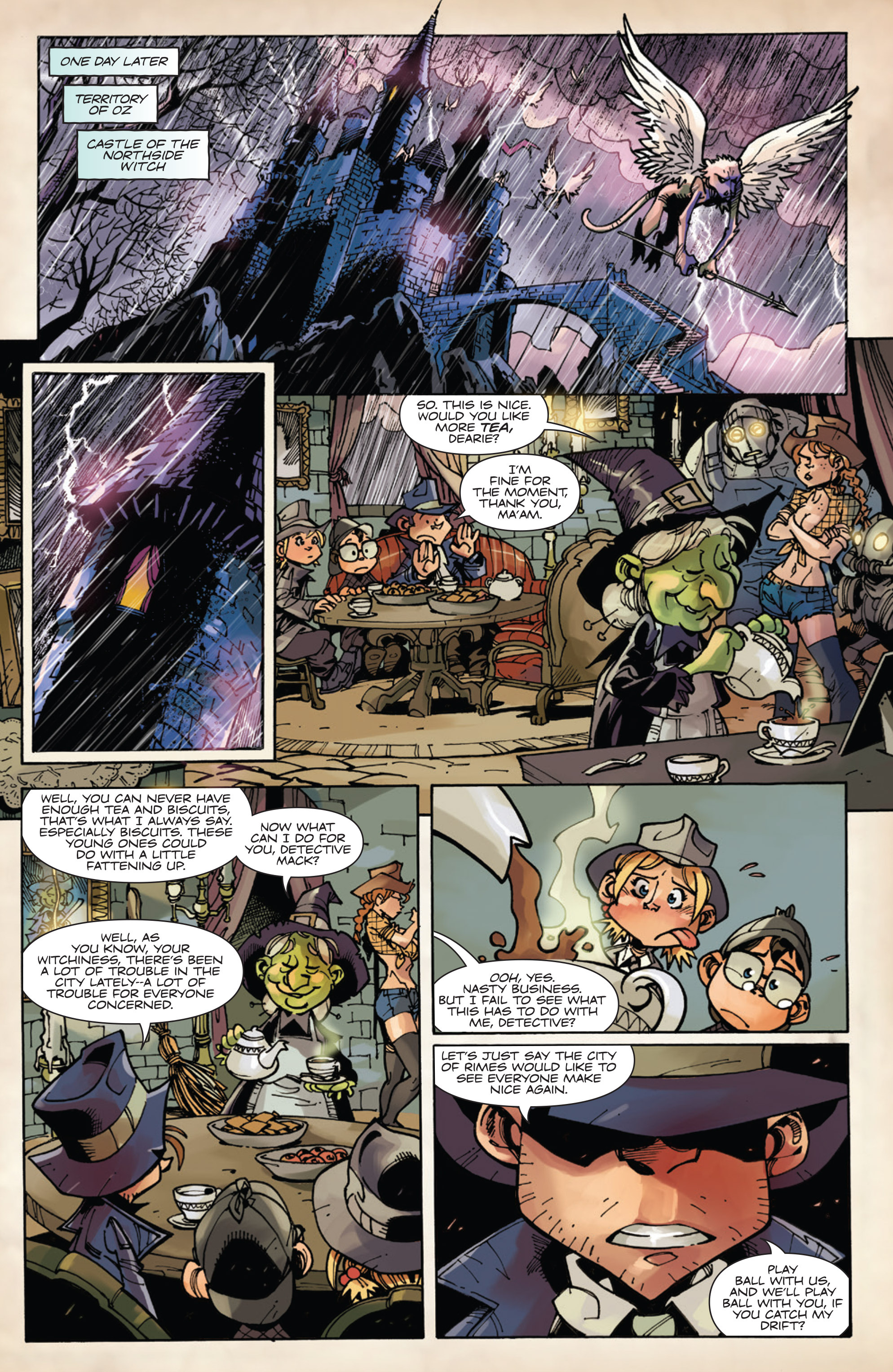 Read online Fiction Squad comic -  Issue #5 - 14