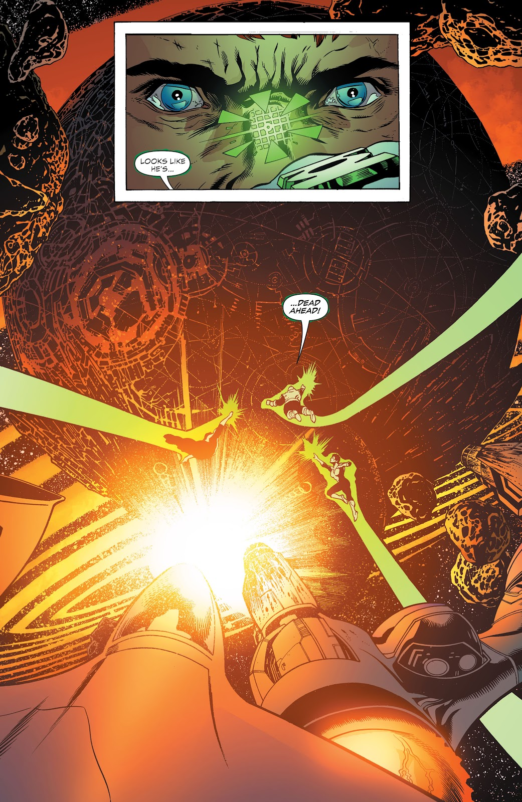 Read online Green Lantern by Geoff Johns comic -  Issue # TPB 1 (Part 3) - 50