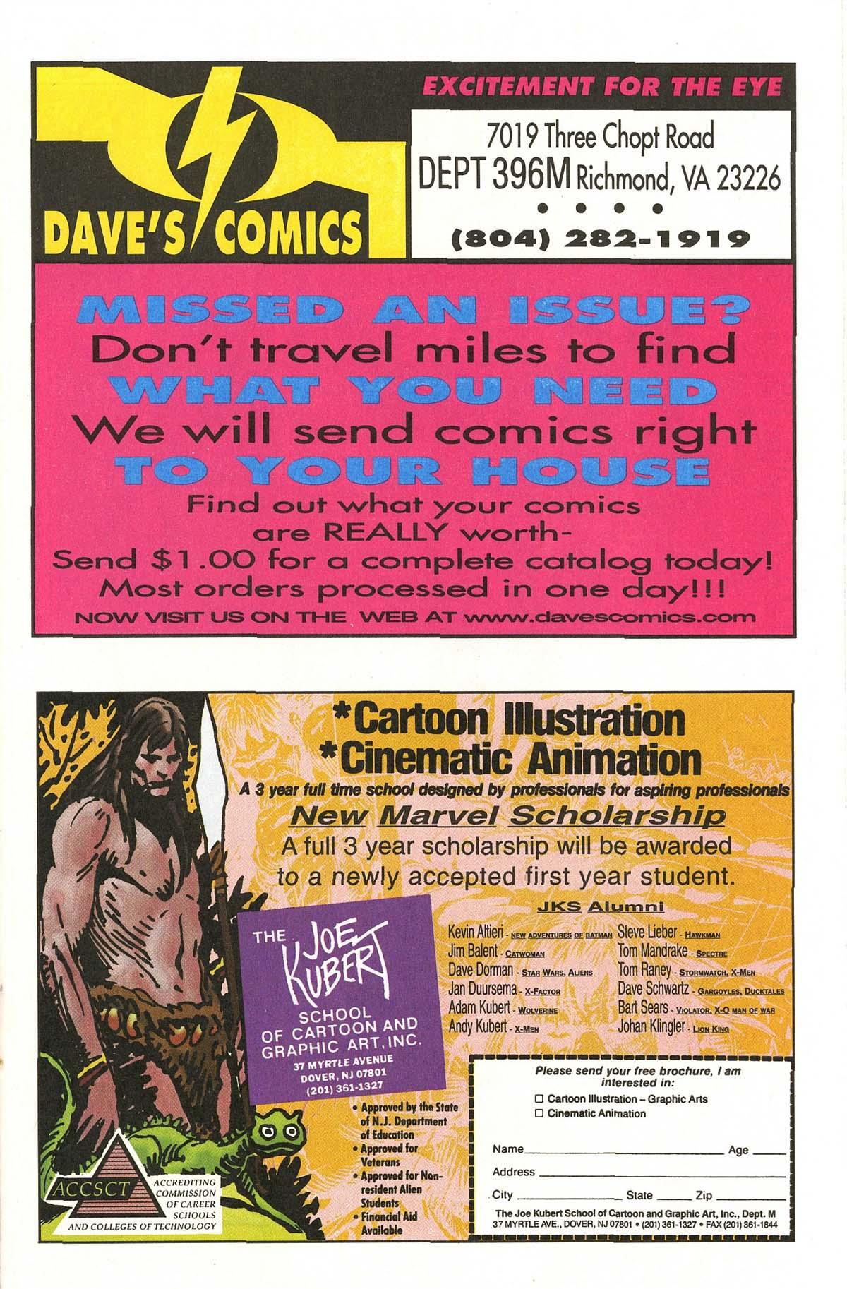 Read online UltraForce (1995) comic -  Issue #5 - 22