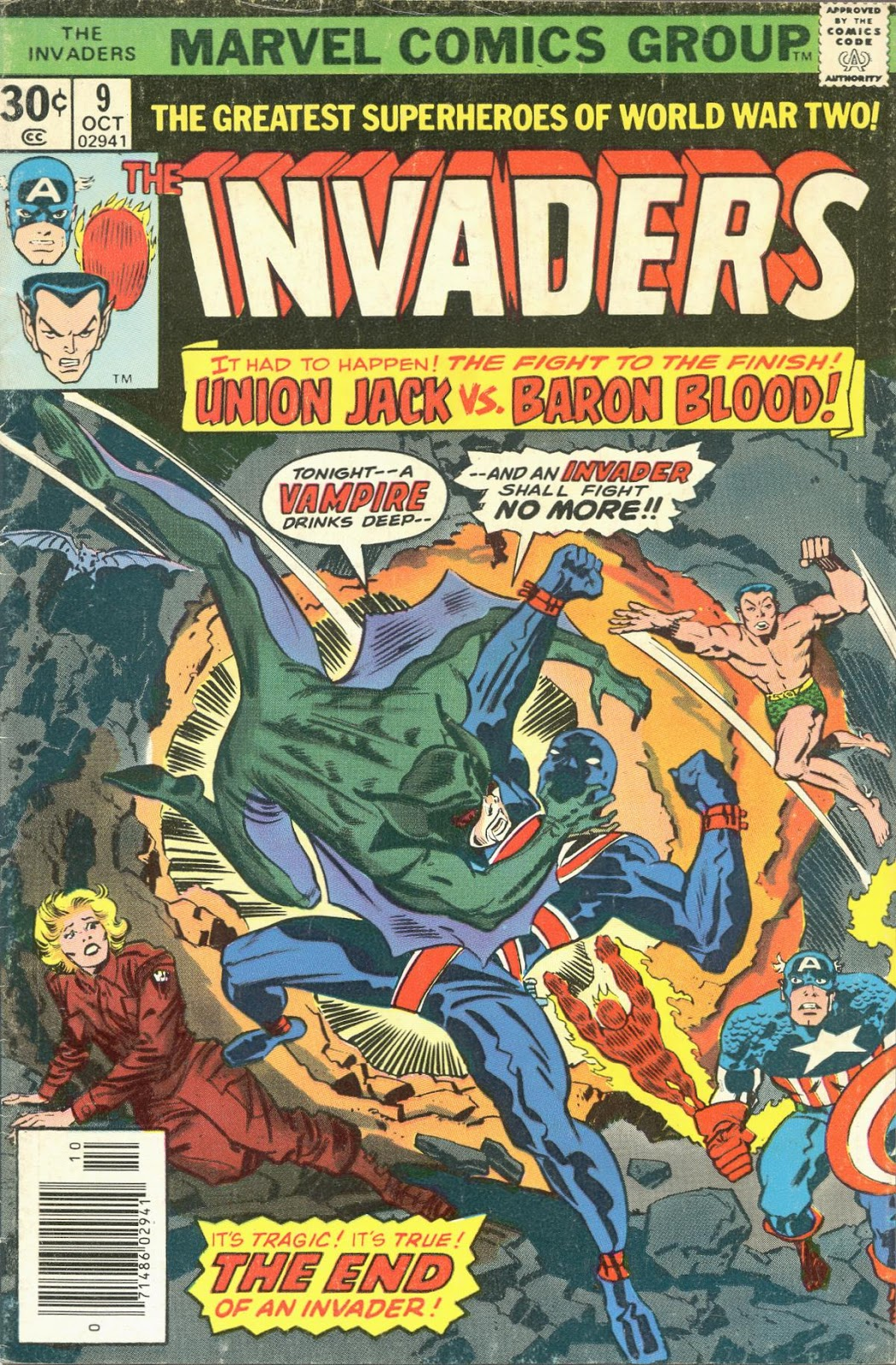The Invaders (1975) issue 9 - Page 1