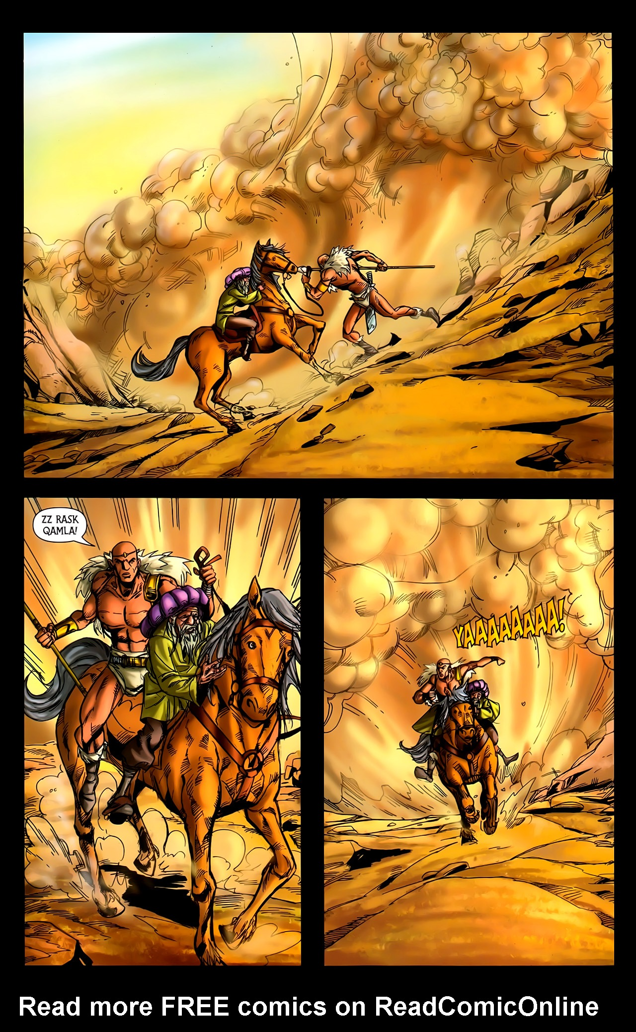 Read online 1001 Arabian Nights: The Adventures of Sinbad comic -  Issue #10 - 22