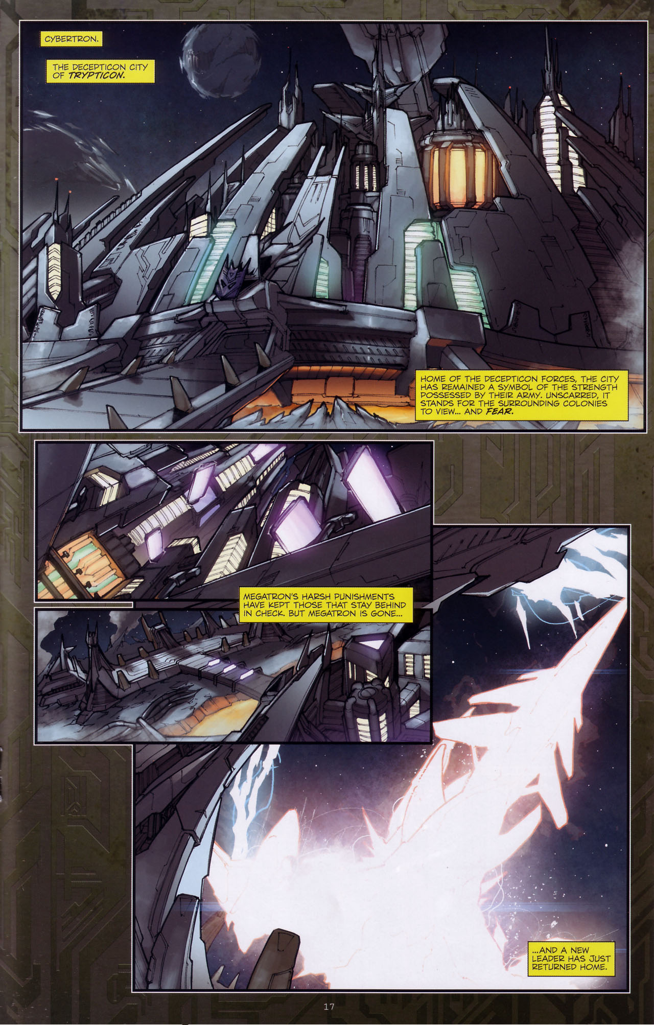 Read online Transformers: The Reign of Starscream comic -  Issue #3 - 18