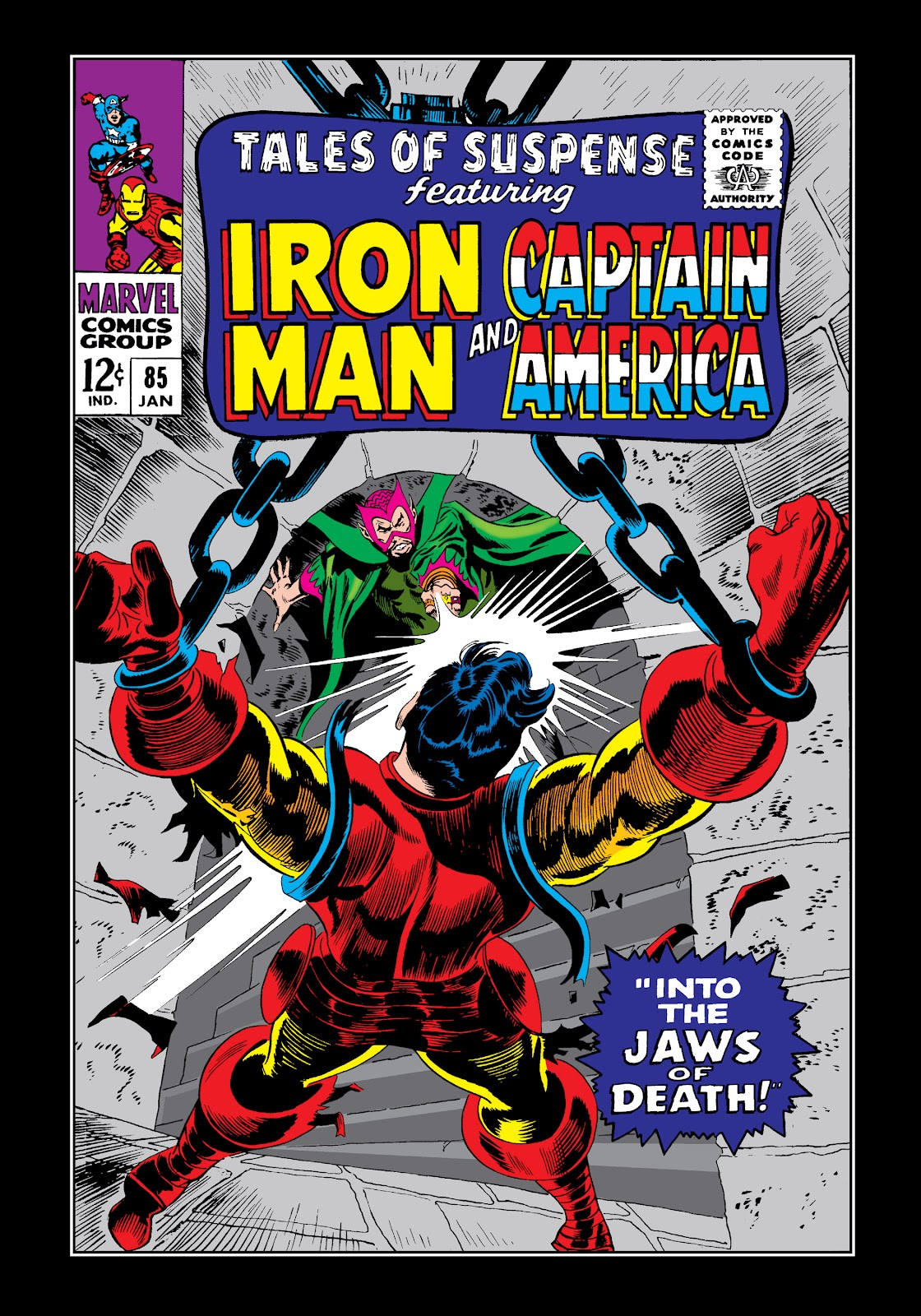 Read online Marvel Masterworks: The Invincible Iron Man comic -  Issue # TPB 4 (Part 1) - 19