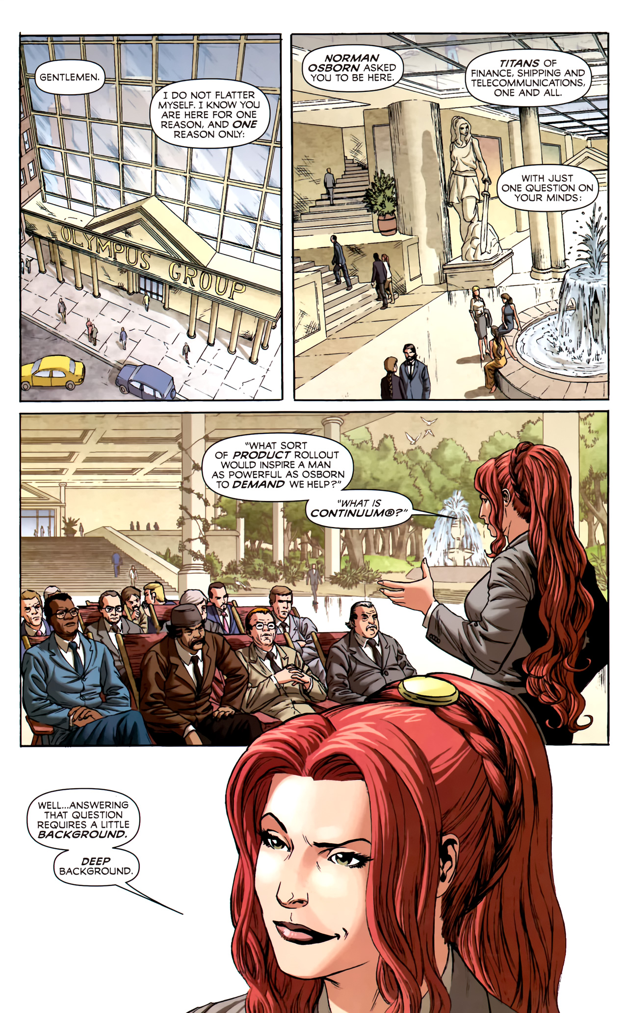 Read online Assault on New Olympus Prologue comic -  Issue #Assault on New Olympus Prologue Full - 28