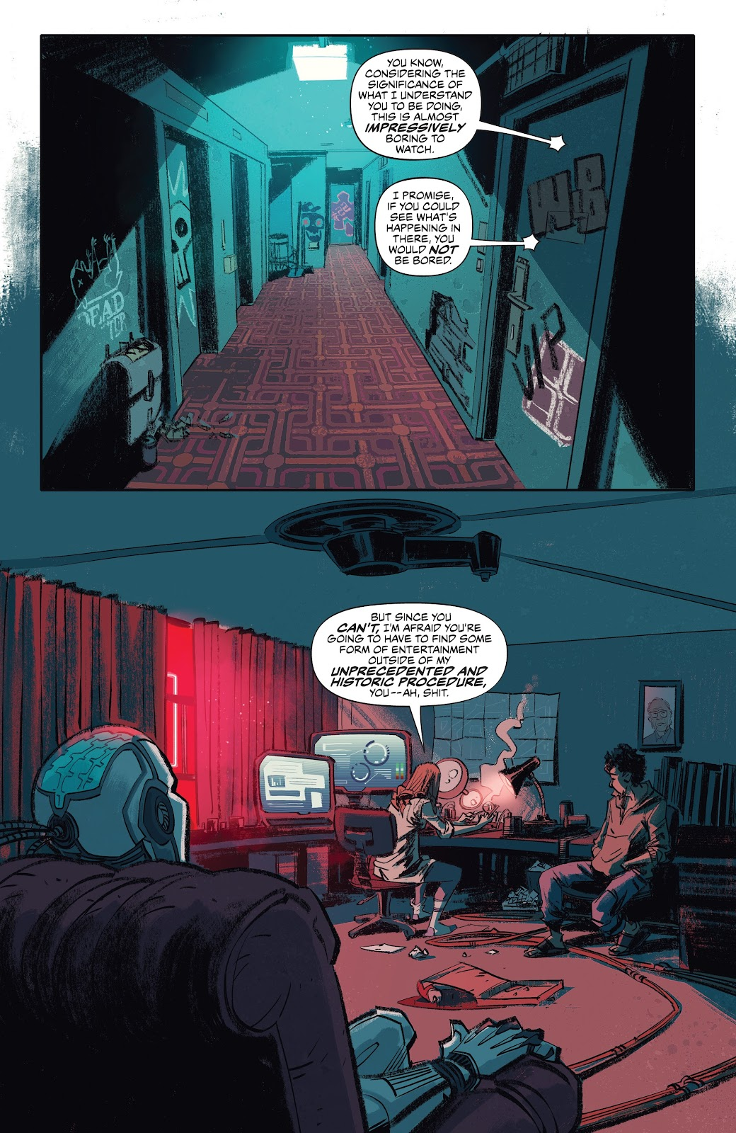 Read online Self/Made comic -  Issue #4 - 3