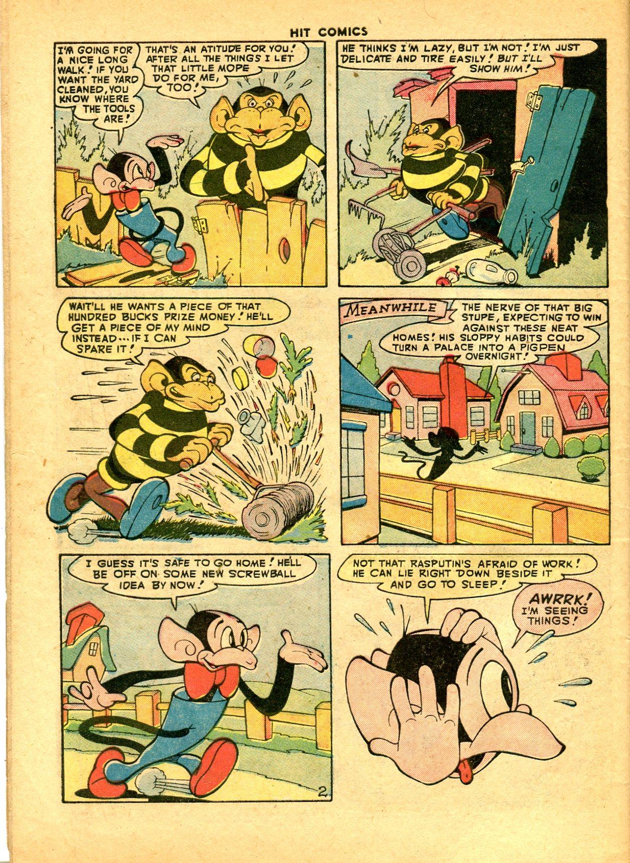 Read online Hit Comics comic -  Issue #49 - 46