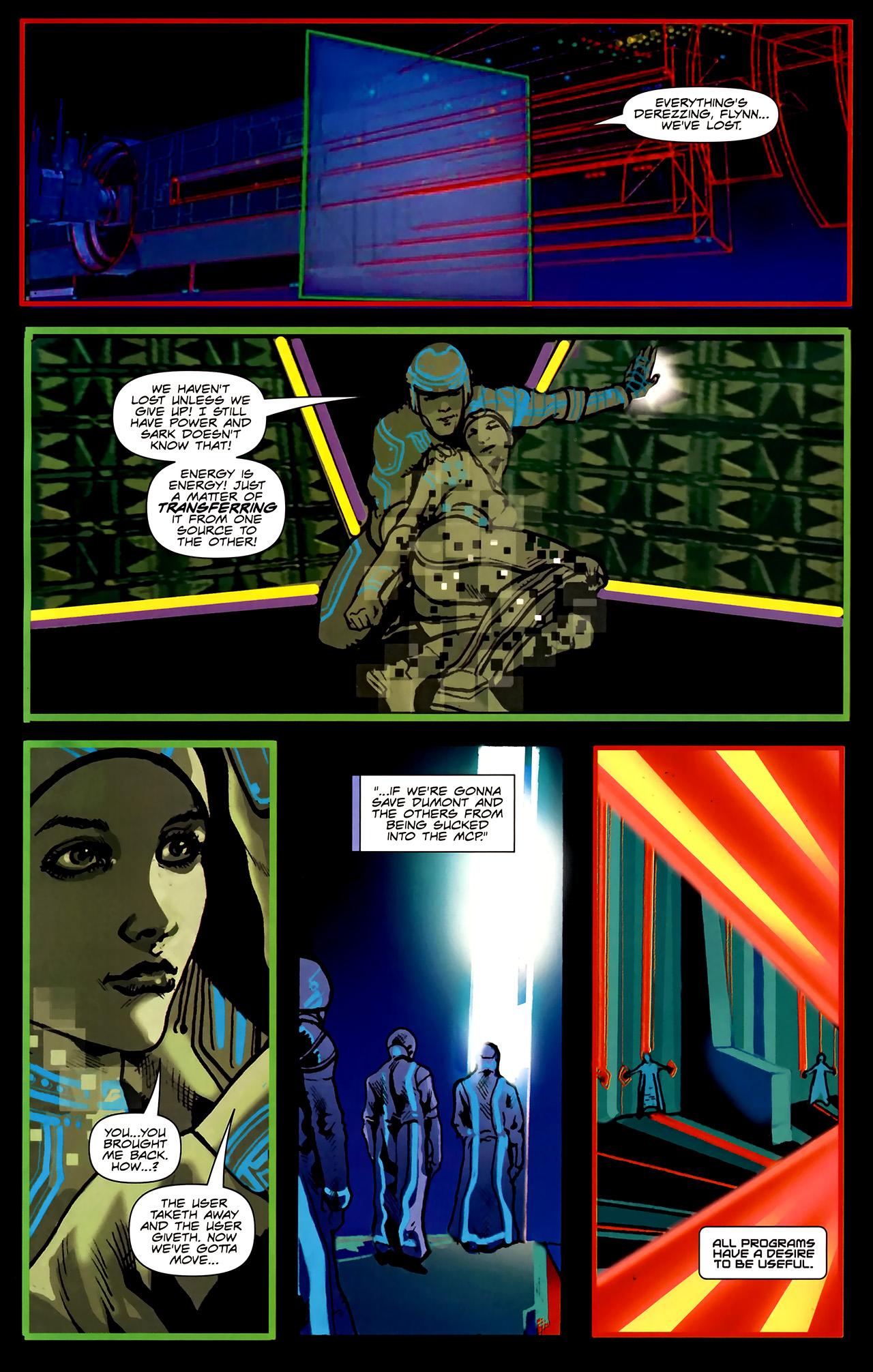 Read online TRON: Original Movie Adaptation comic -  Issue #2 - 25