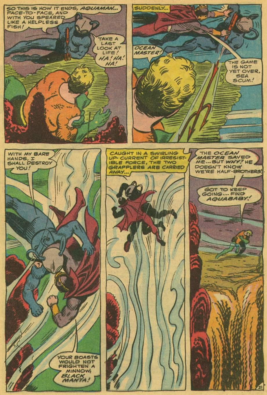 Read online Aquaman (1962) comic -  Issue #35 - 29