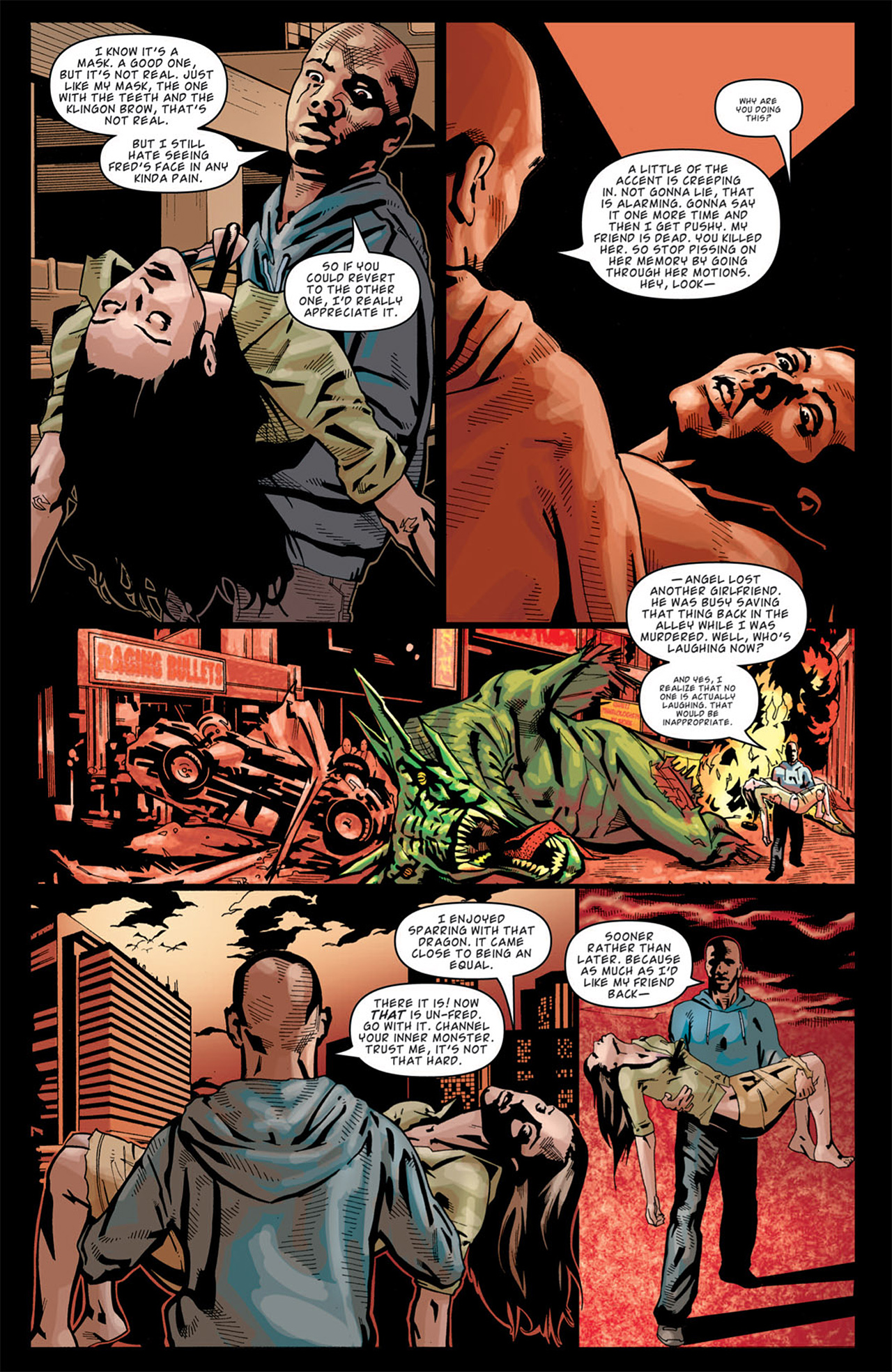 Read online Angel: After The Fall comic -  Issue #14 - 7