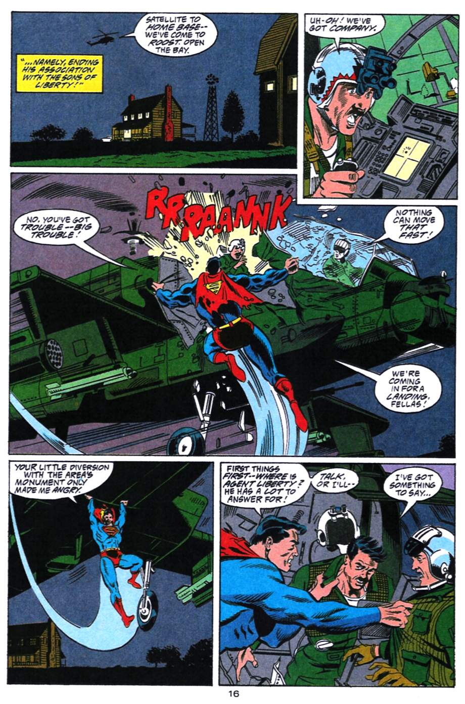Read online Adventures of Superman (1987) comic -  Issue #492 - 17