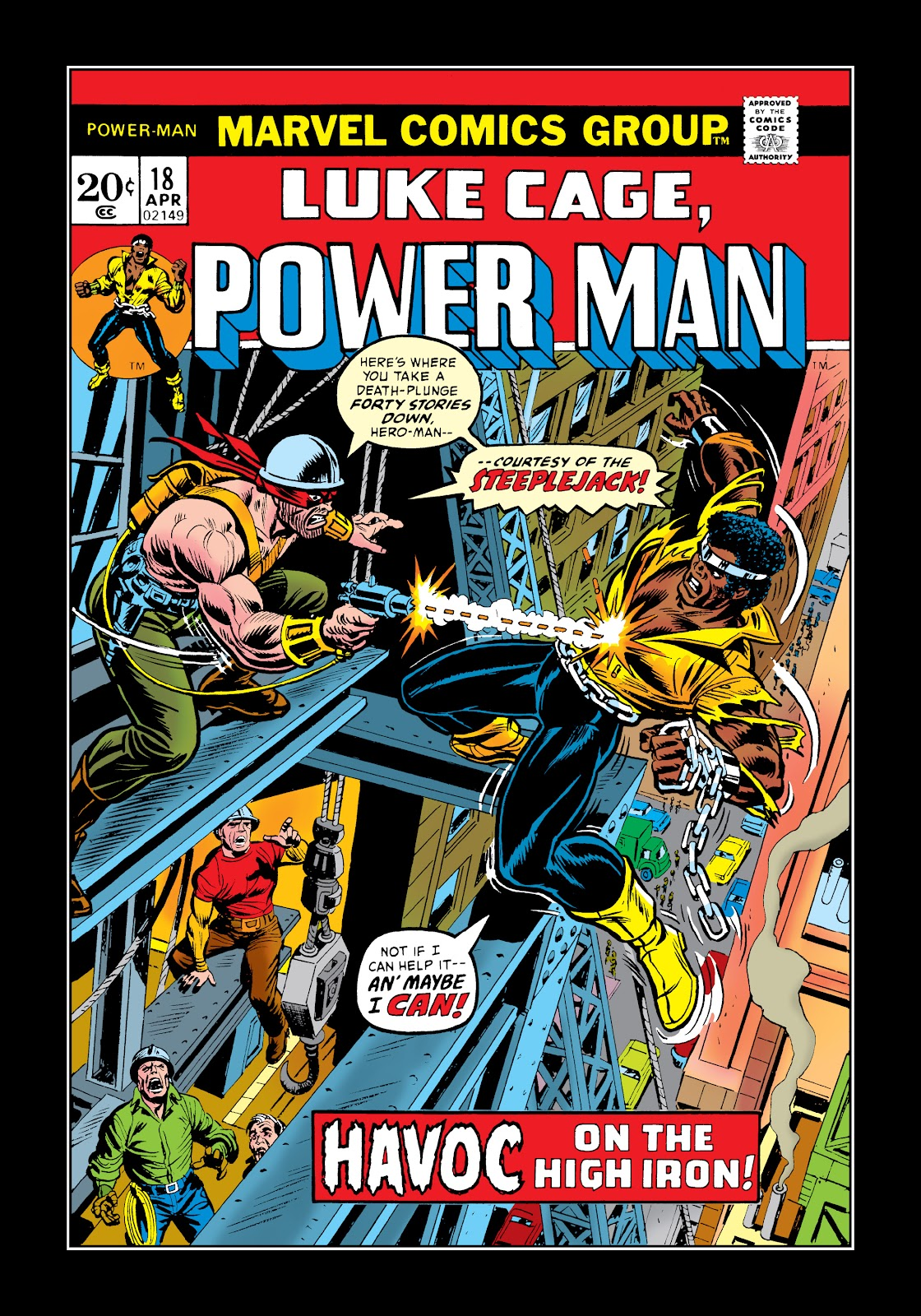 Read online Marvel Masterworks: Luke Cage, Power Man comic -  Issue # TPB 2 (Part 1) - 29