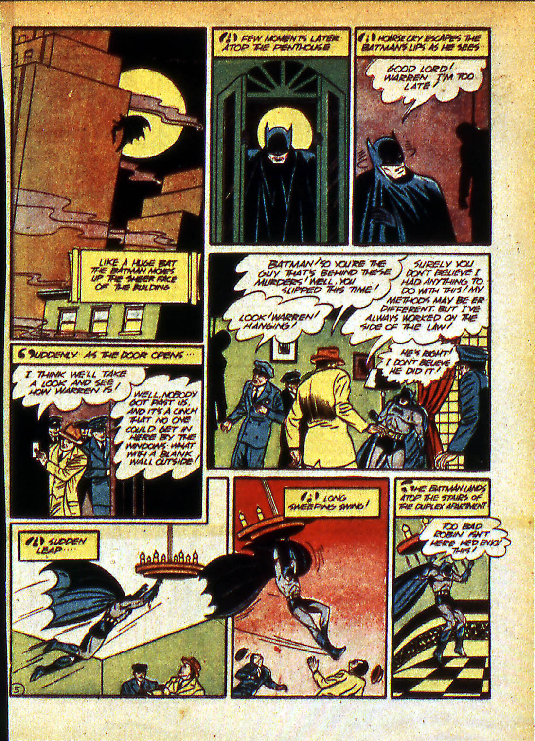Read online Detective Comics (1937) comic -  Issue #42 - 7