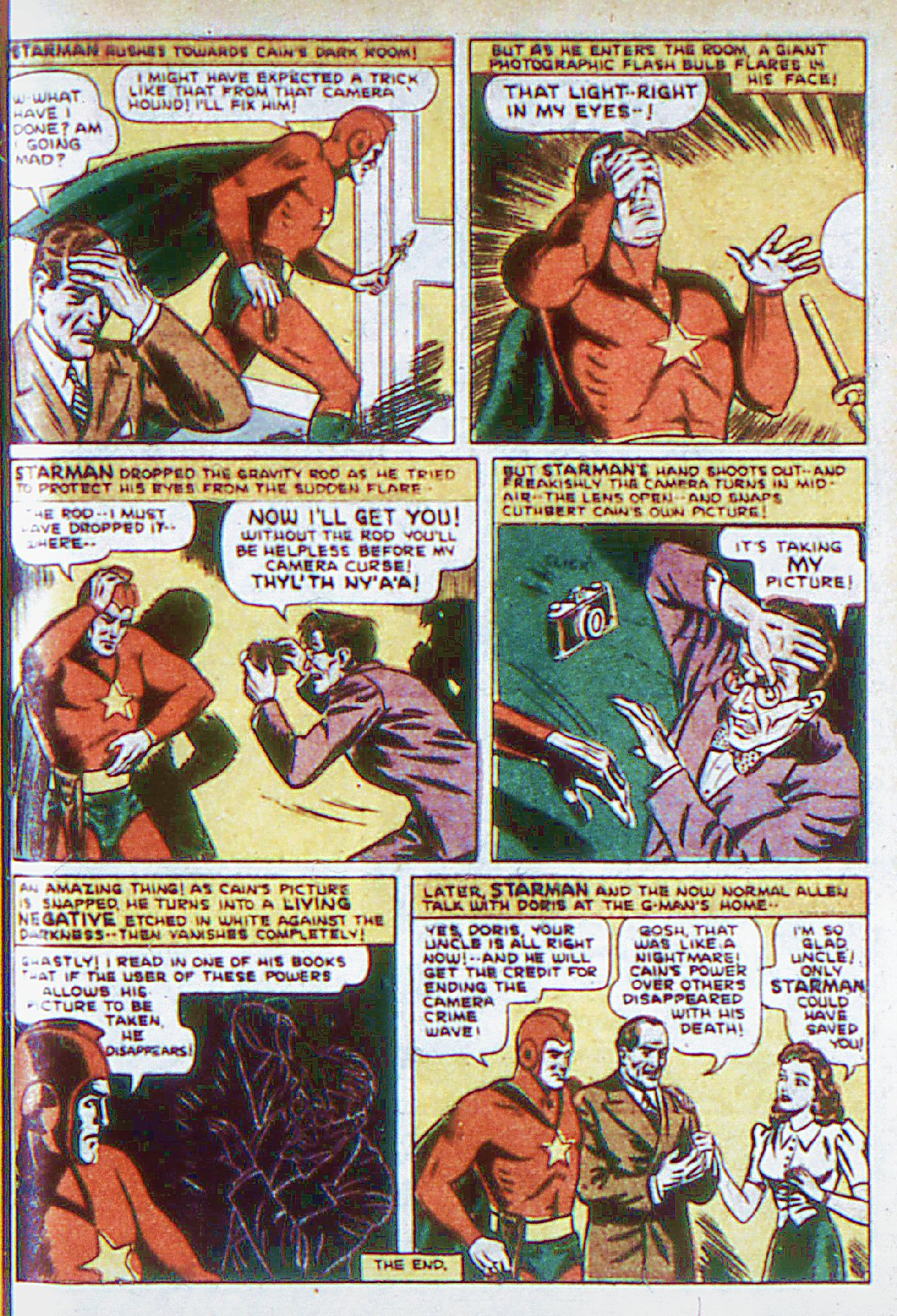 Read online Adventure Comics (1938) comic -  Issue #66 - 16