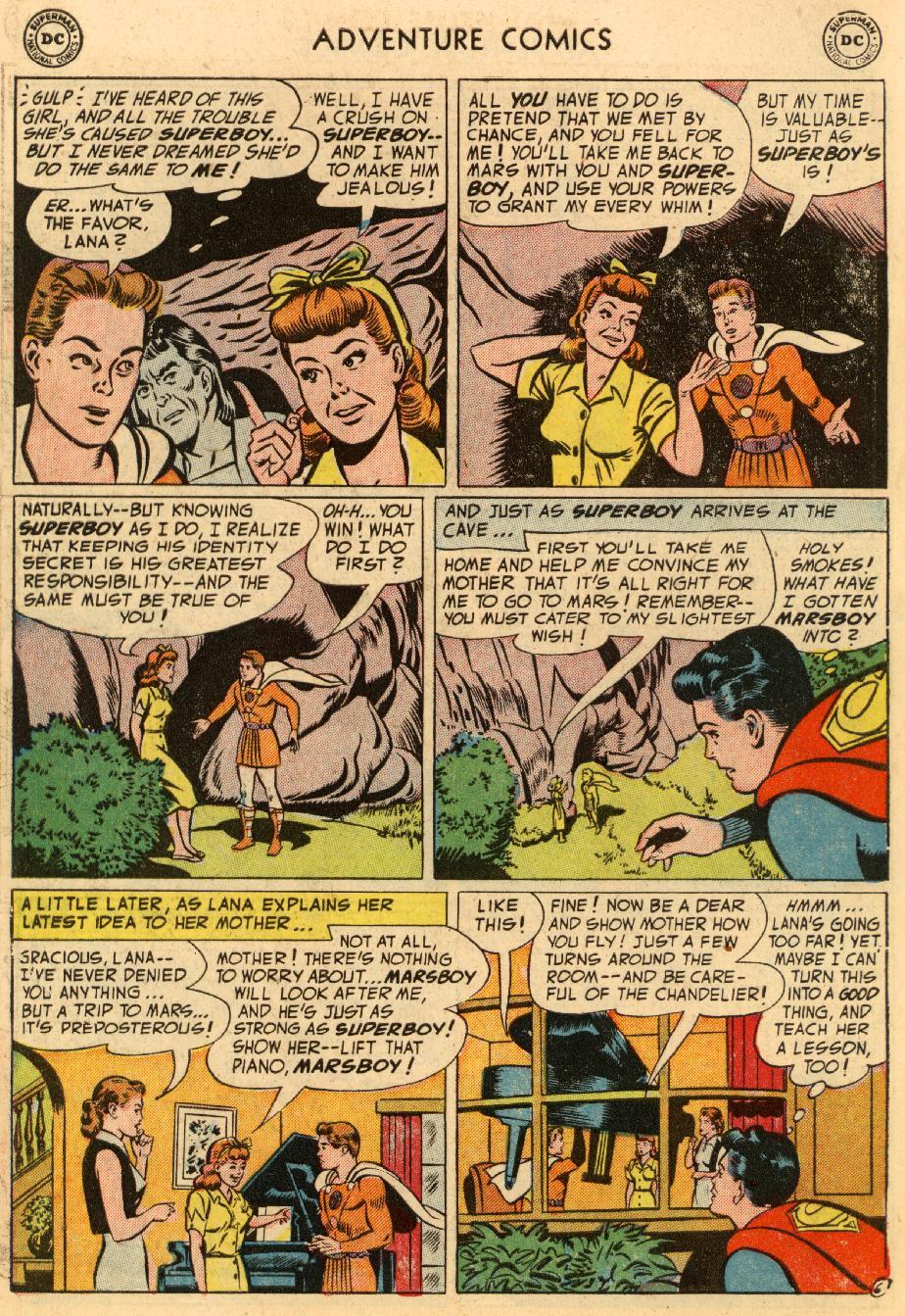 Read online Adventure Comics (1938) comic -  Issue #195 - 8