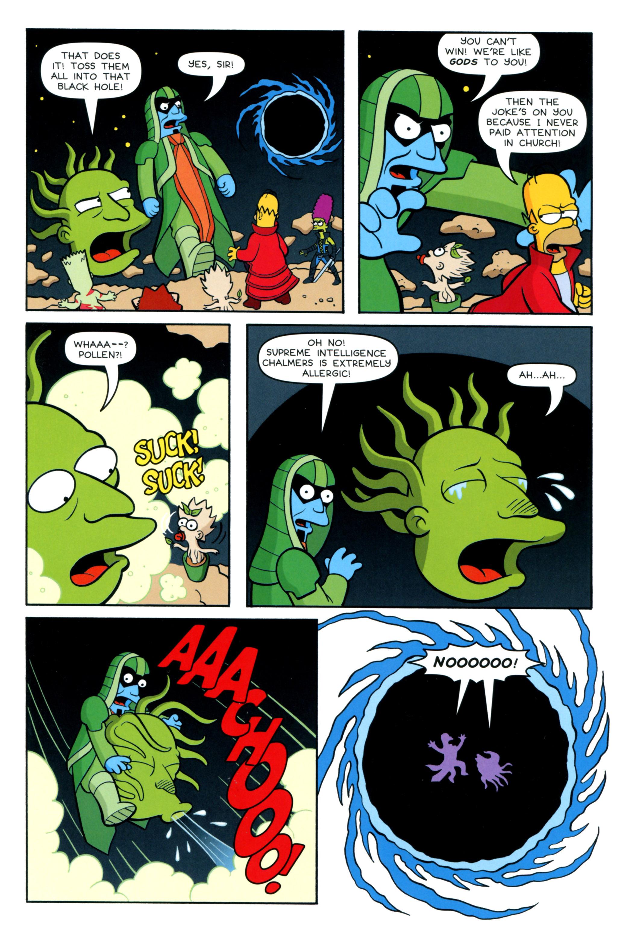 Read online Simpsons Comics comic -  Issue #218 - 15