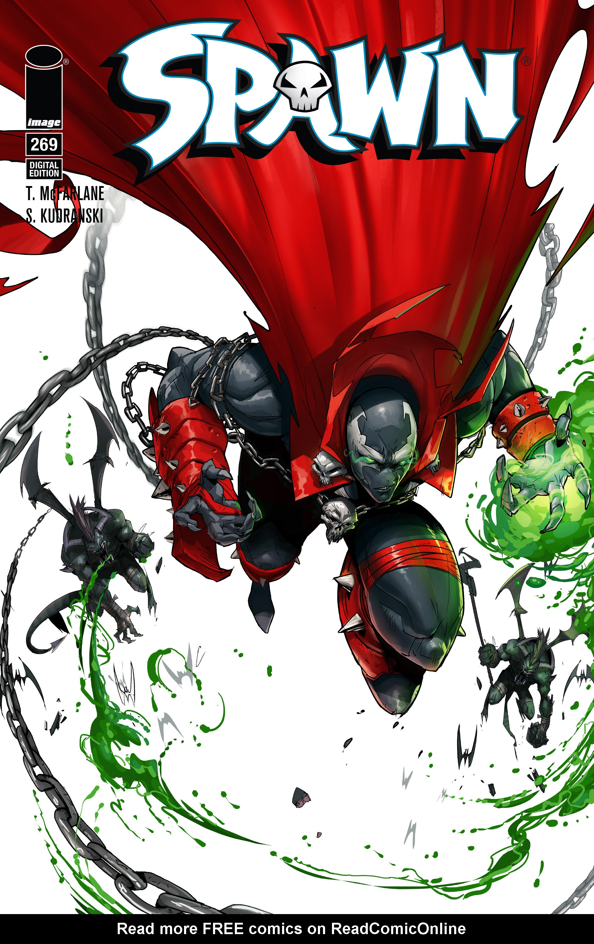 Spawn 269 Page 1