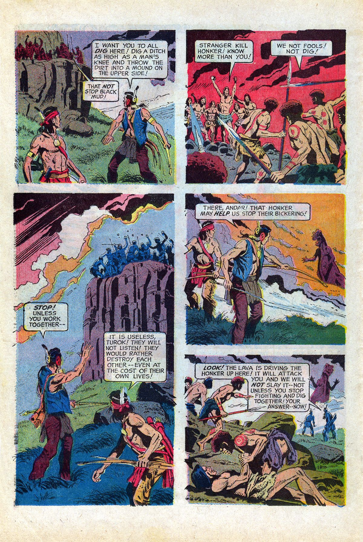 Read online Turok, Son of Stone comic -  Issue #66 - 22