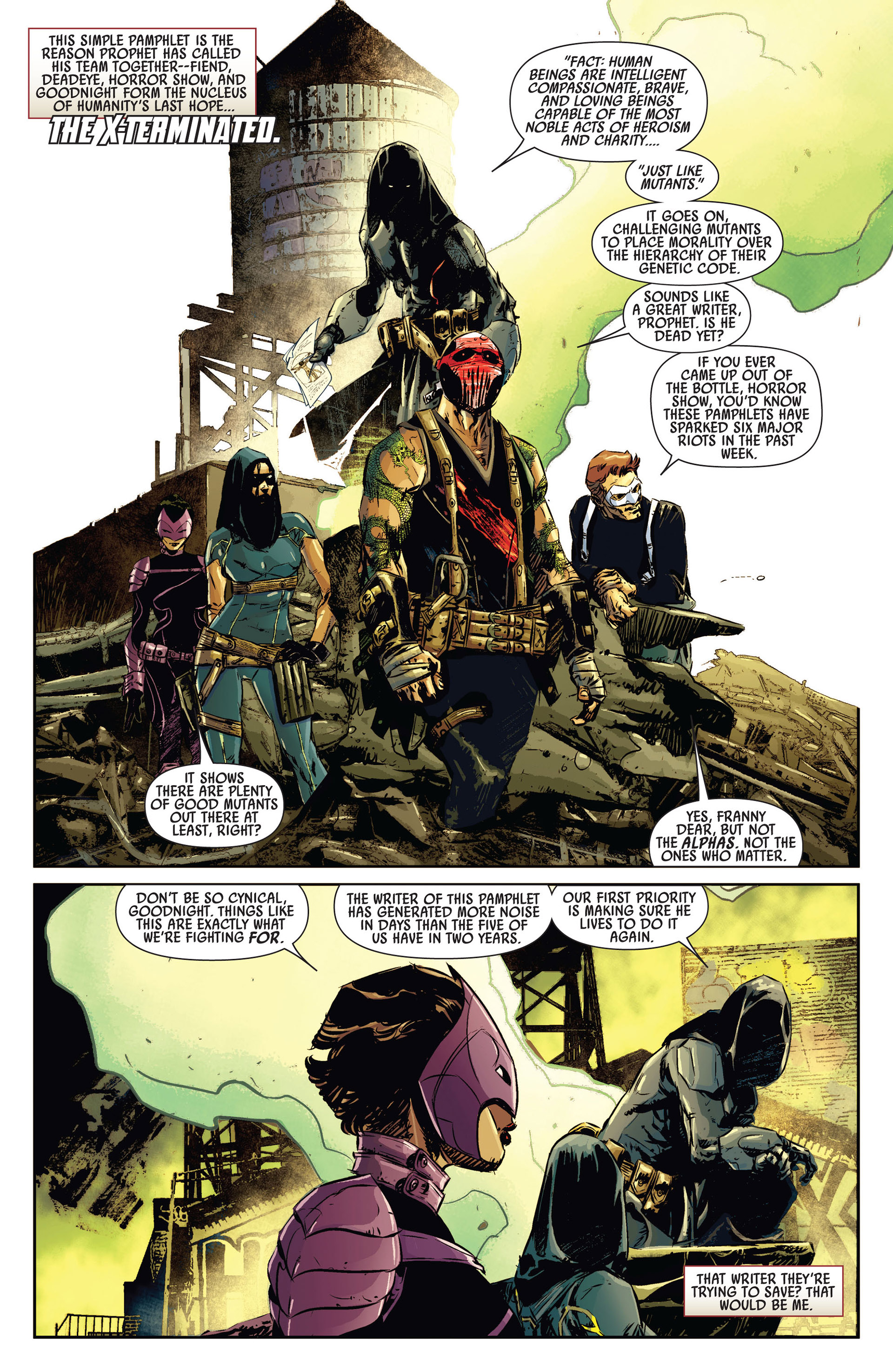 Read online Age of Apocalypse (2012) comic -  Issue #1 - 13