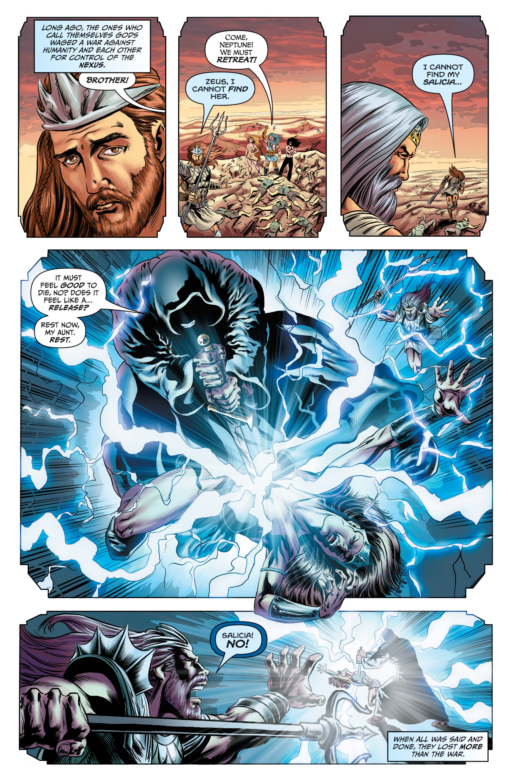Read online Grimm Fairy Tales presents Grimm Universe comic -  Issue # TPB - 55
