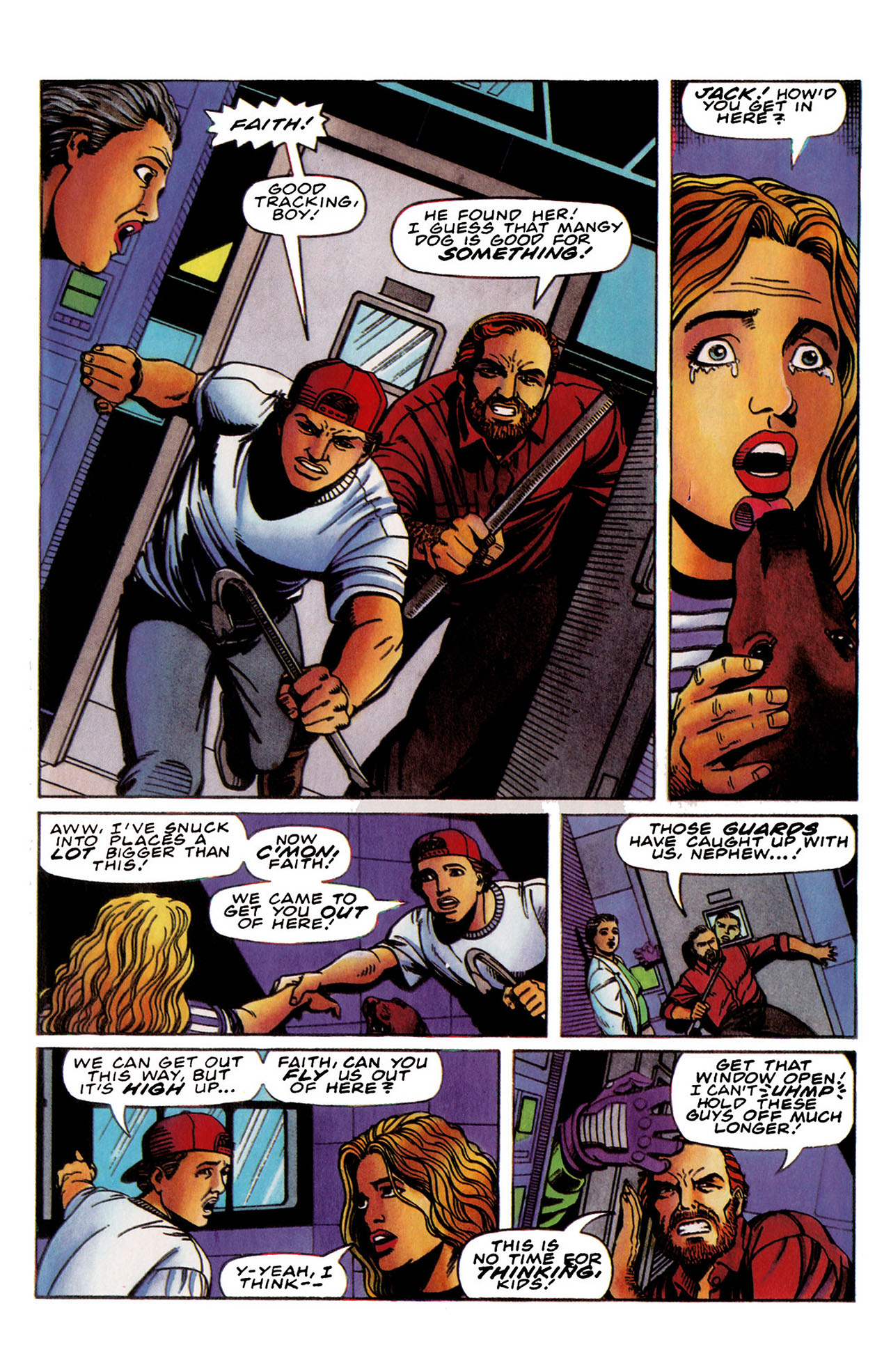 Read online Harbinger (1992) comic -  Issue #35 - 18