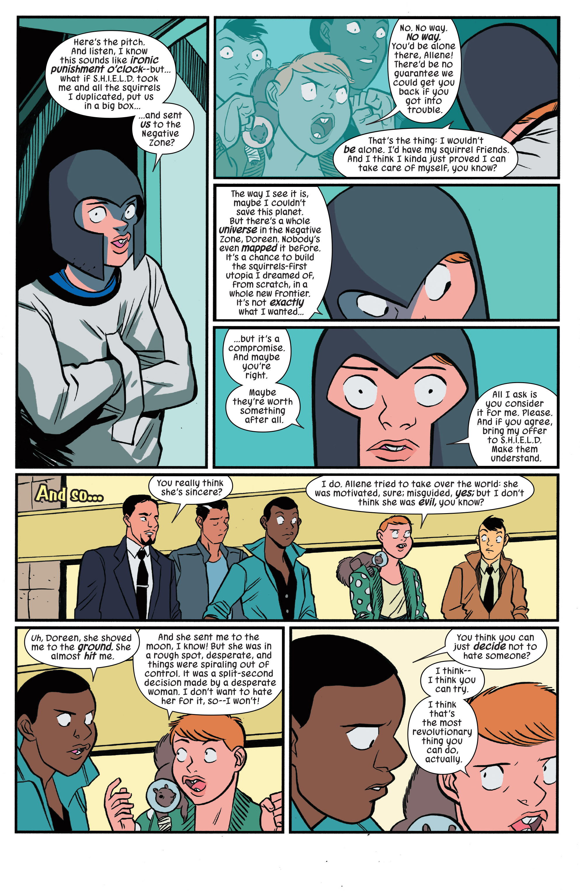 scans_daily   The Unbeatable Squirrel Girl Beats Up the