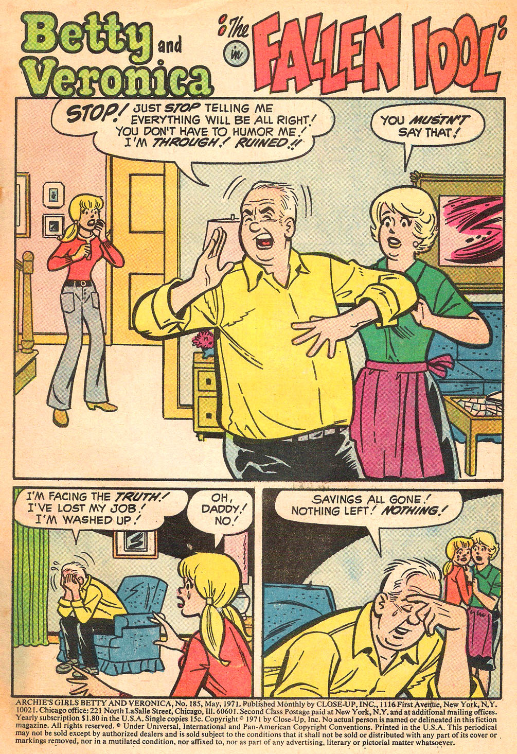 Read online Archie's Girls Betty and Veronica comic -  Issue #185 - 3