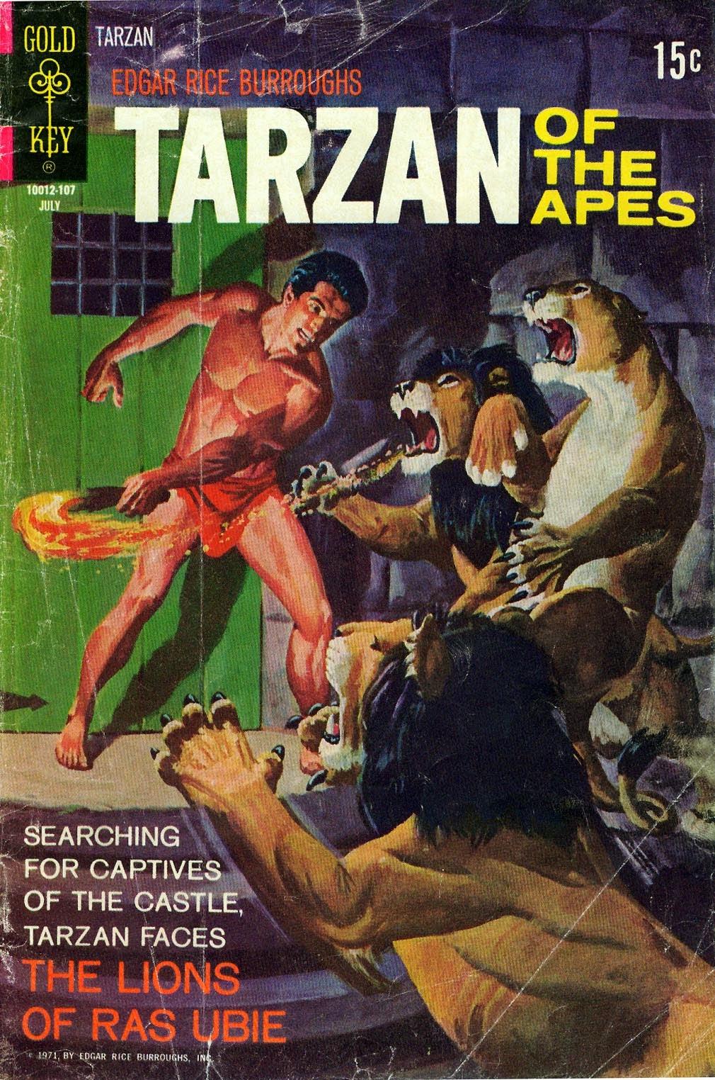 Tarzan (1962) issue 201 - Page 1