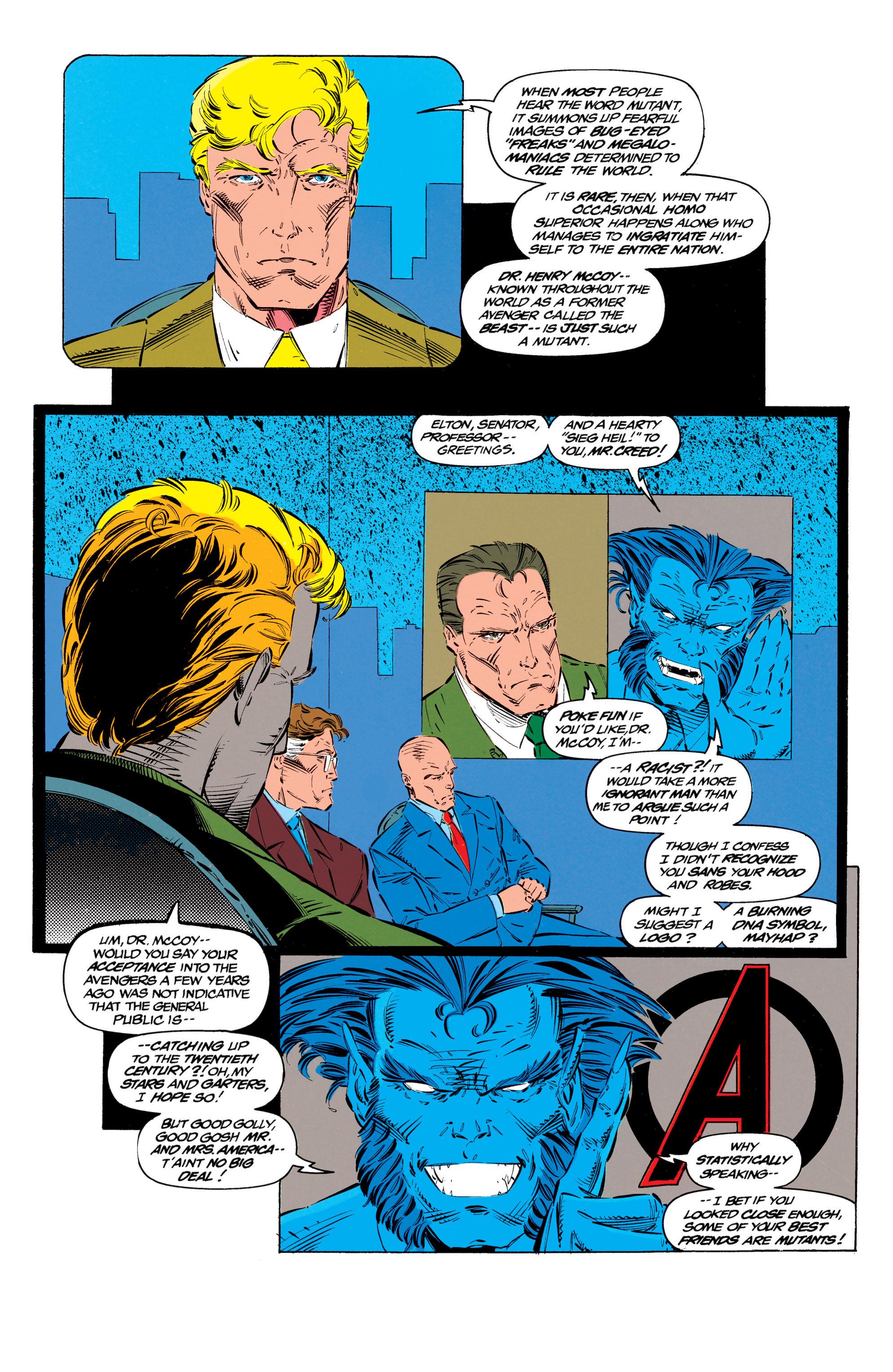 Read online Uncanny X-Men (1963) comic -  Issue #299 - 17
