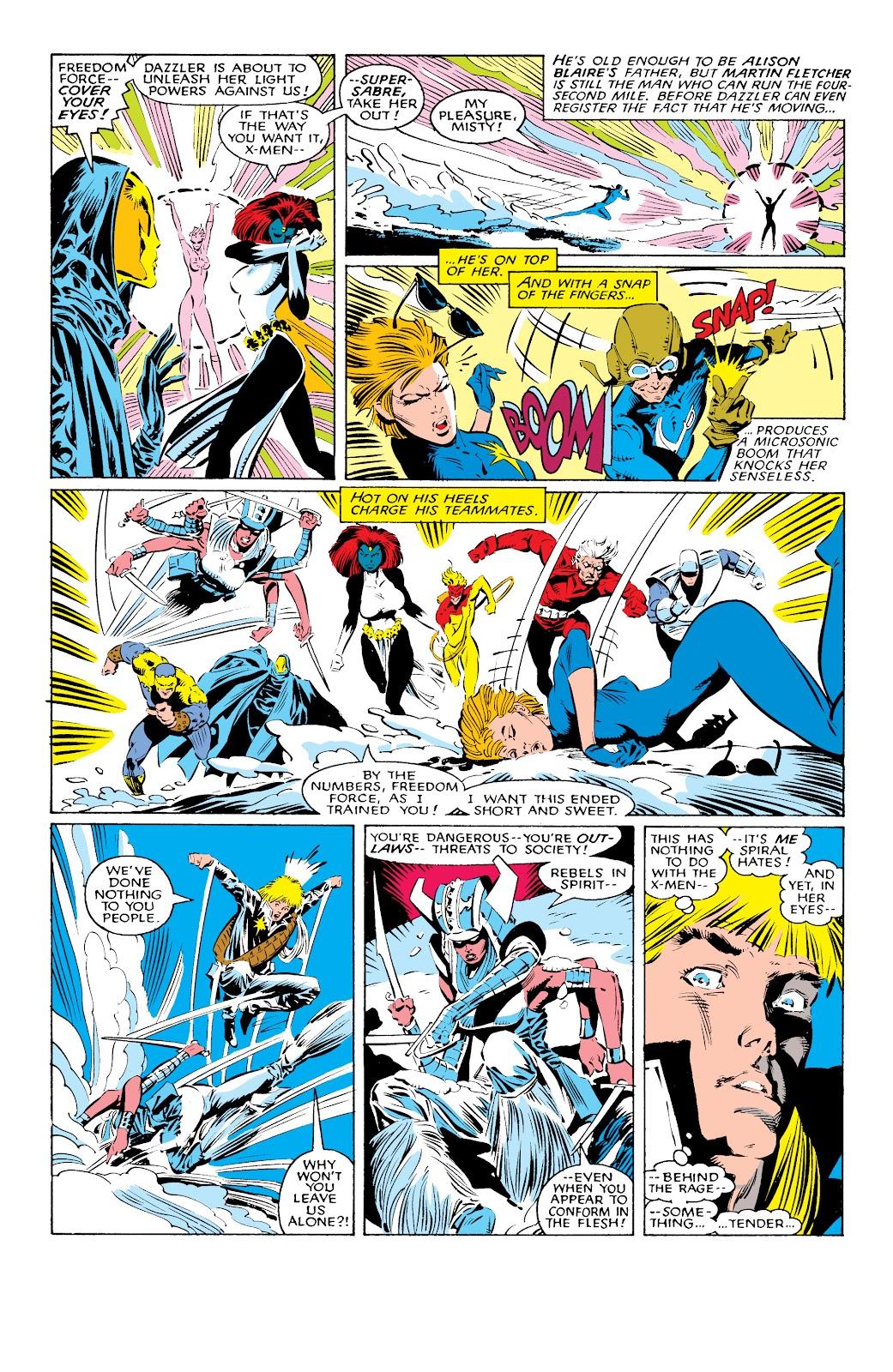Read online X-Men Milestones: Fall of the Mutants comic -  Issue # TPB (Part 1) - 21