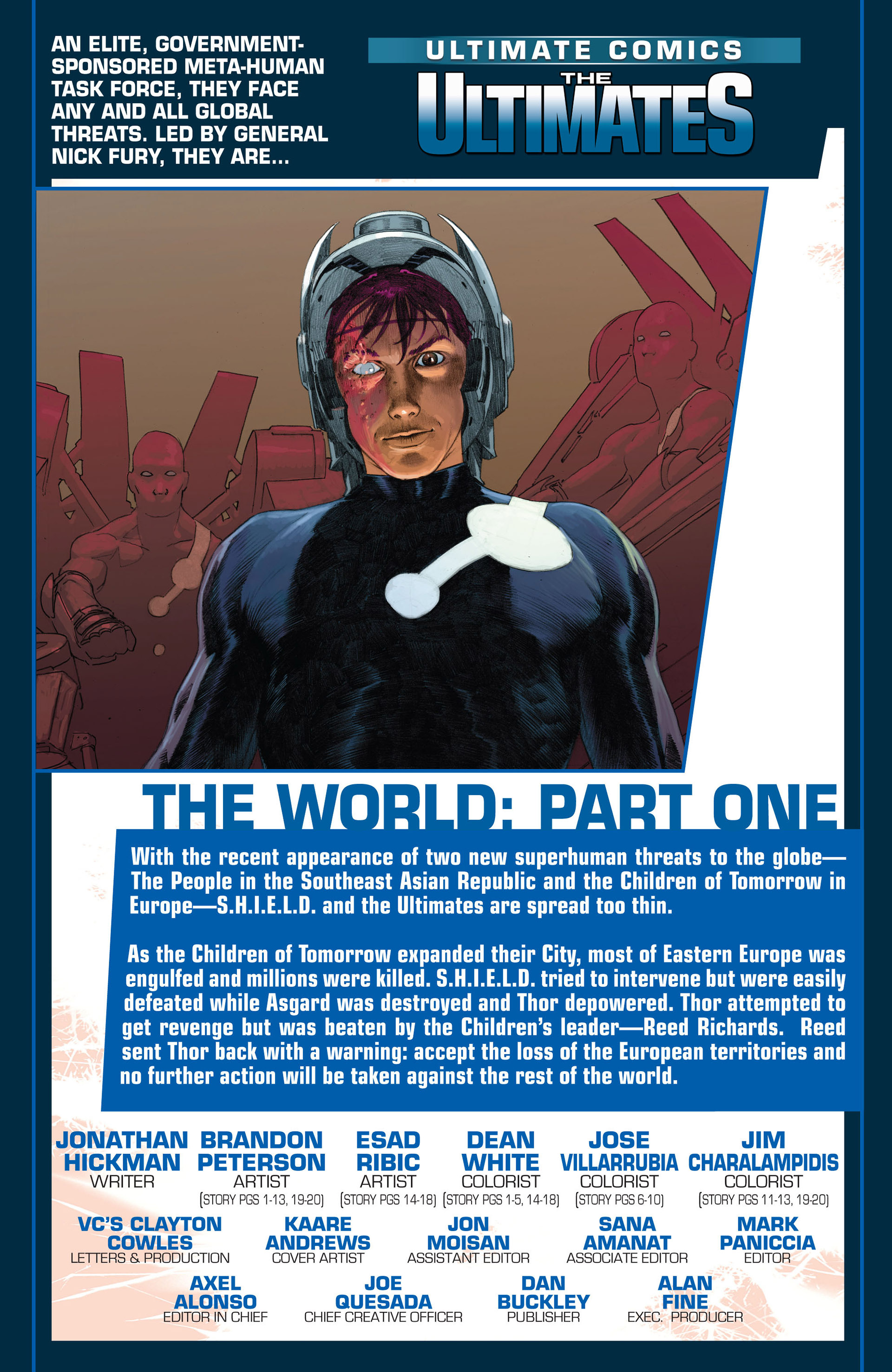 Read online Ultimate Comics Ultimates comic -  Issue #5 - 2
