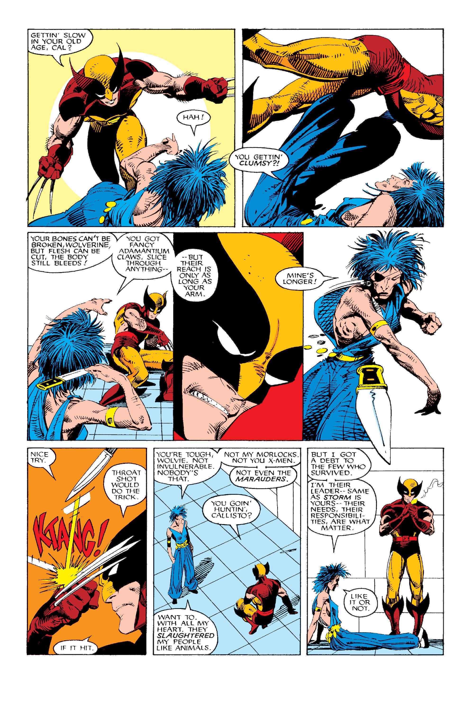 Read online Uncanny X-Men (1963) comic -  Issue #214 - 9