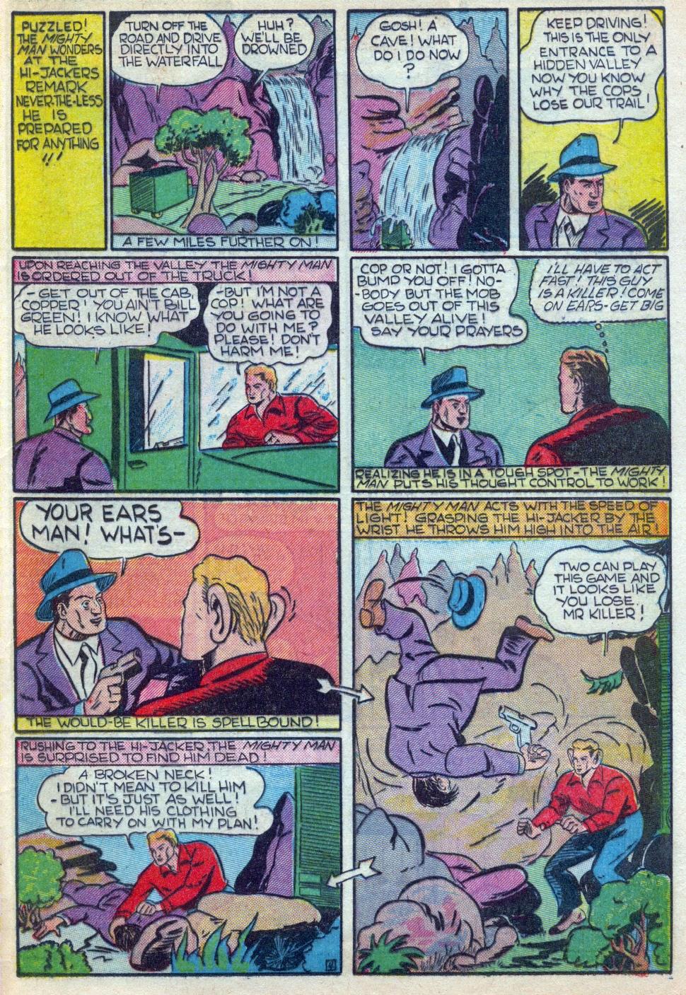 Read online Amazing Man Comics comic -  Issue #15 - 48