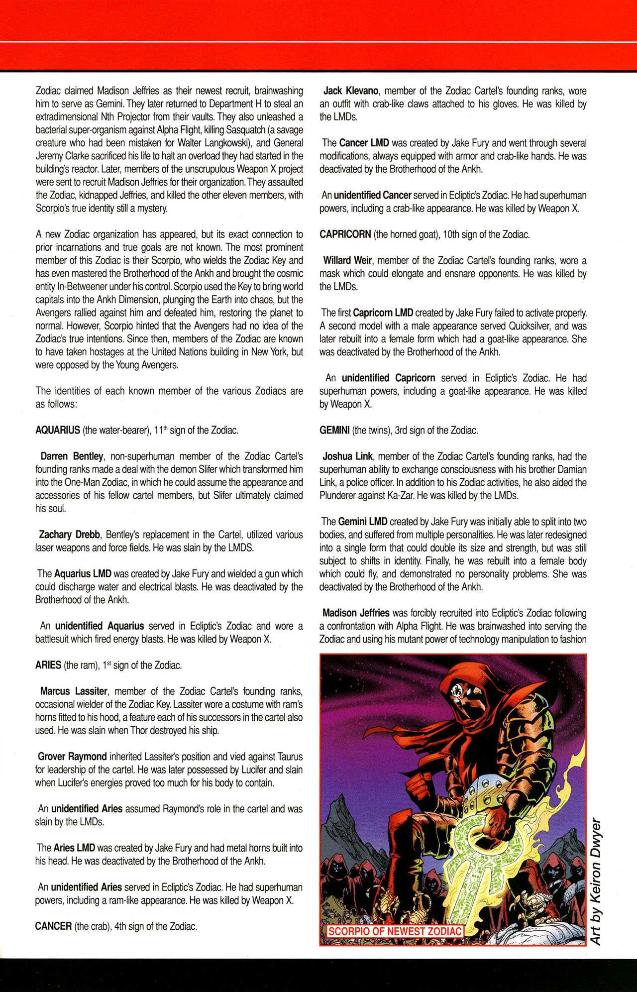 Read online All-New Official Handbook of the Marvel Universe A to Z comic -  Issue #12 - 61