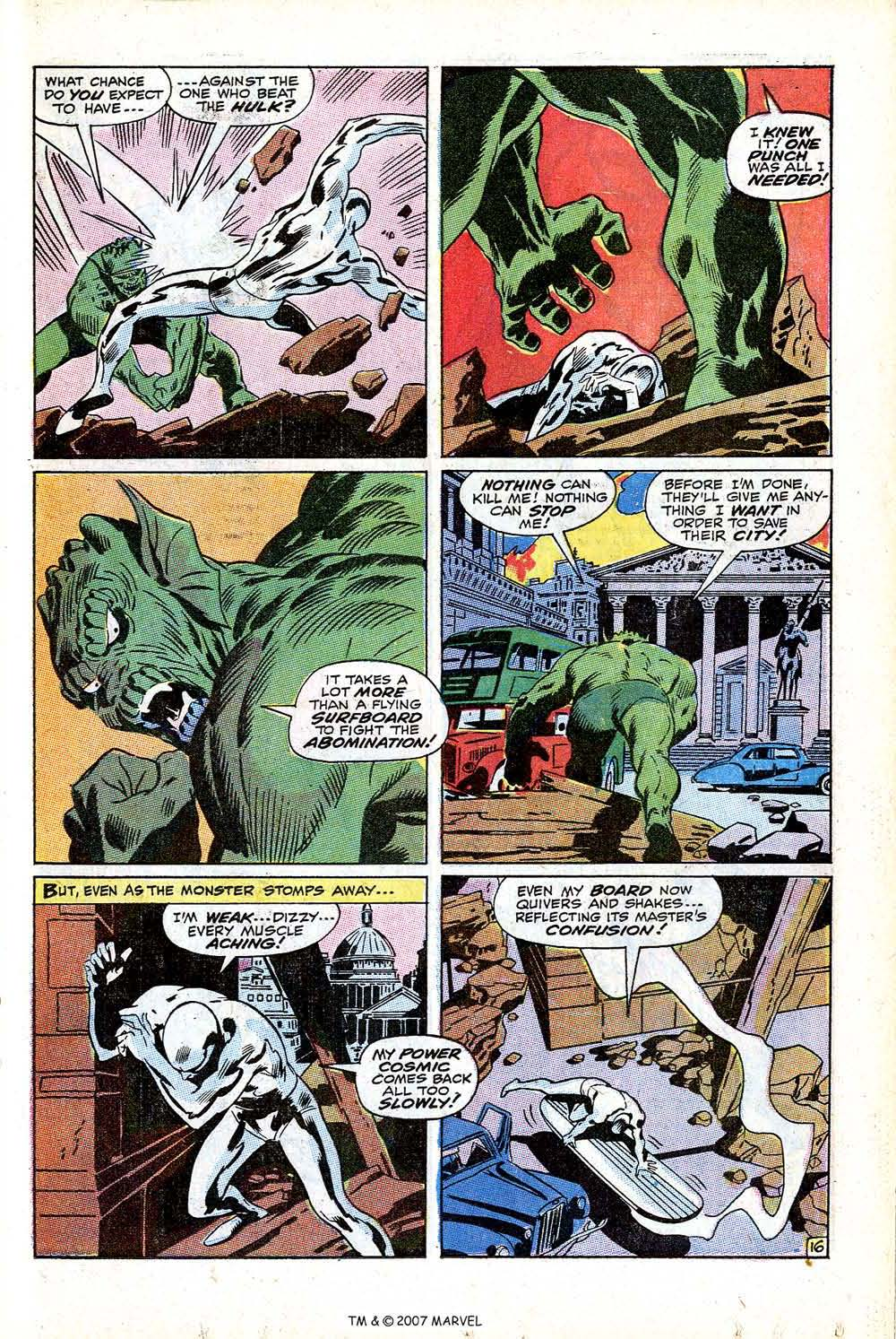 Read online Silver Surfer (1968) comic -  Issue #12 - 23