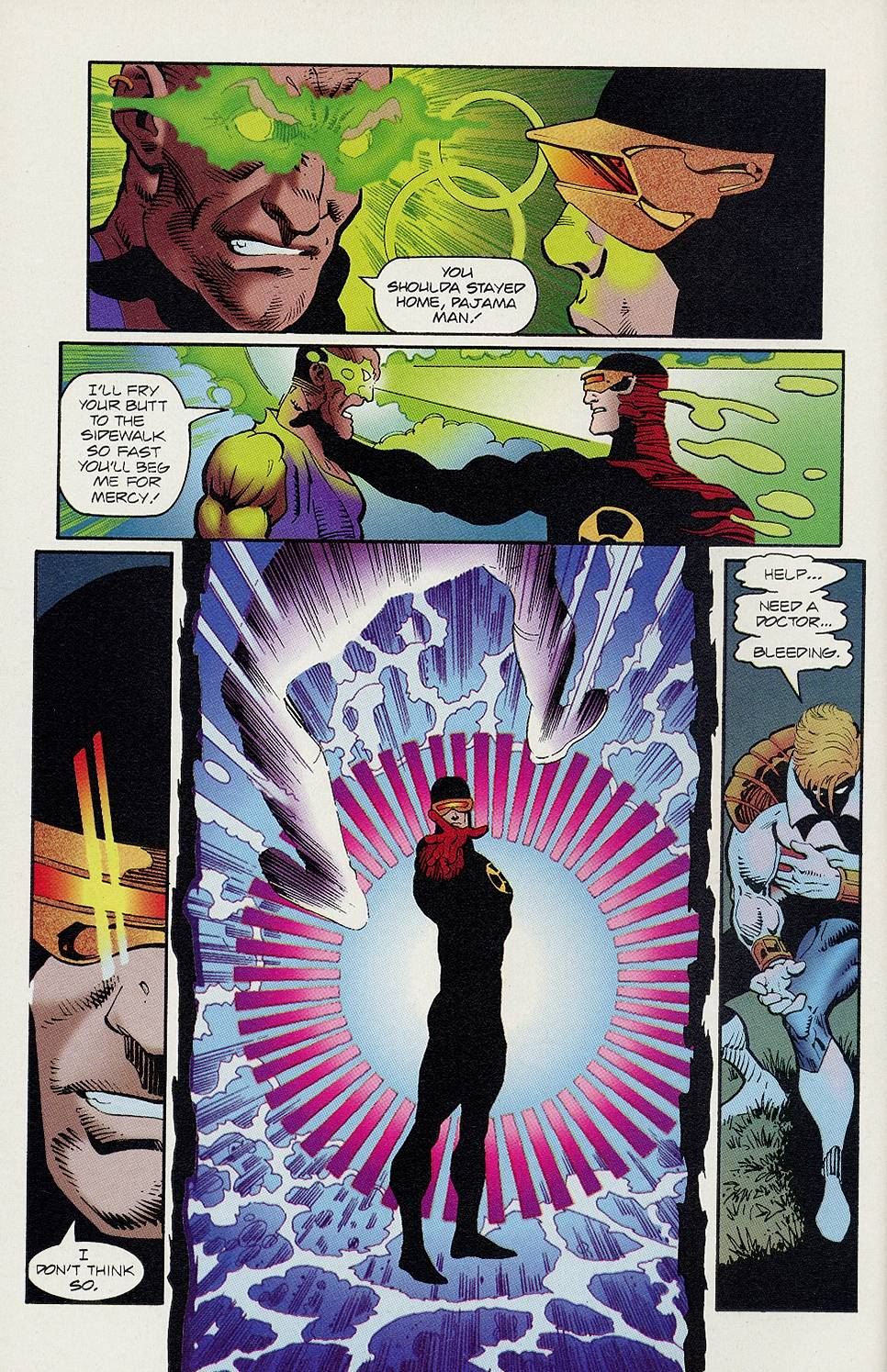 Read online Solar, Man of the Atom comic -  Issue #46 - 9
