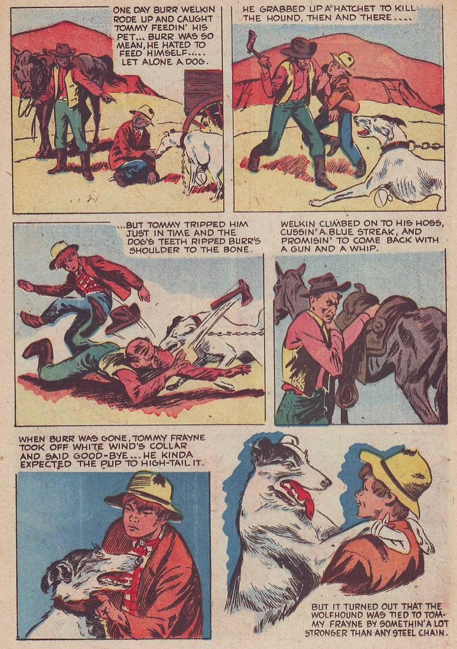 Read online Animal Comics comic -  Issue #30 - 32