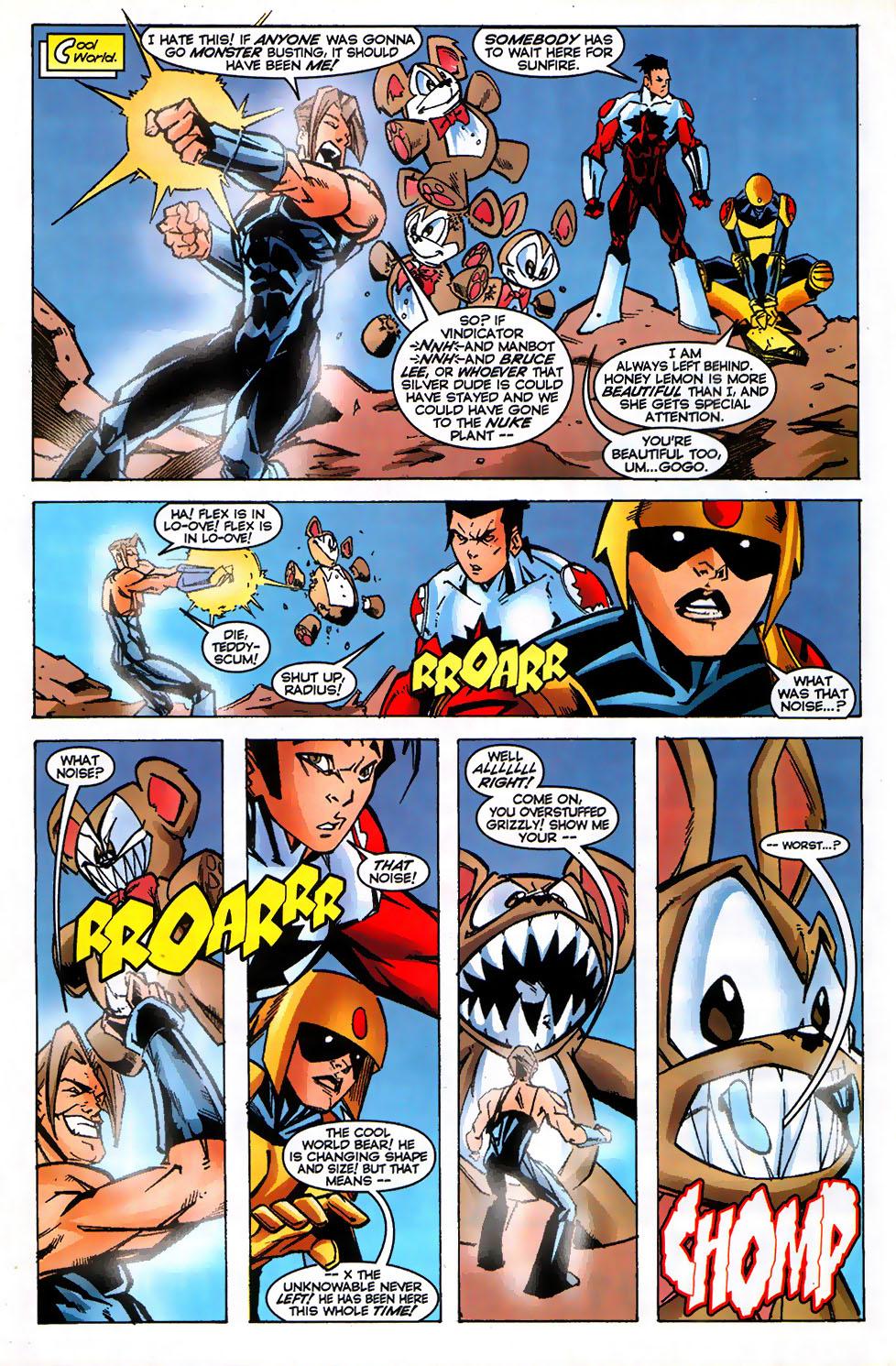 Read online Alpha Flight (1997) comic -  Issue #17 - 18