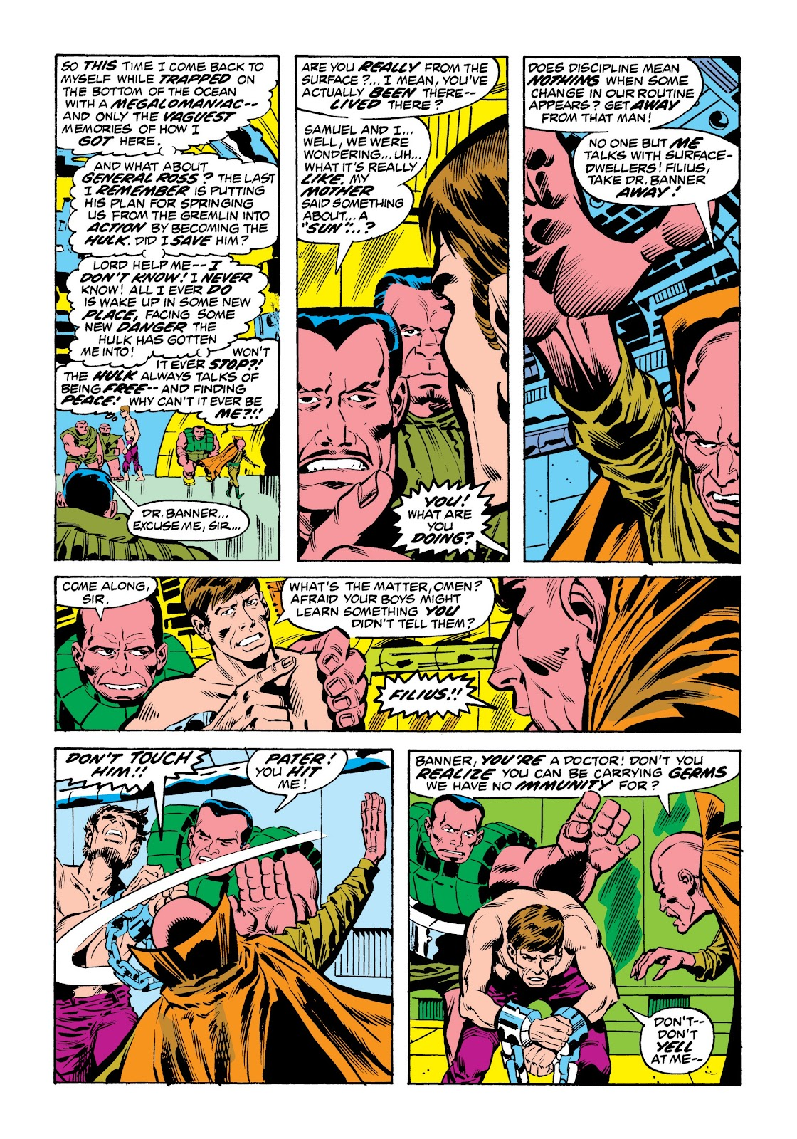 Read online Marvel Masterworks: The Incredible Hulk comic -  Issue # TPB 9 (Part 2) - 72