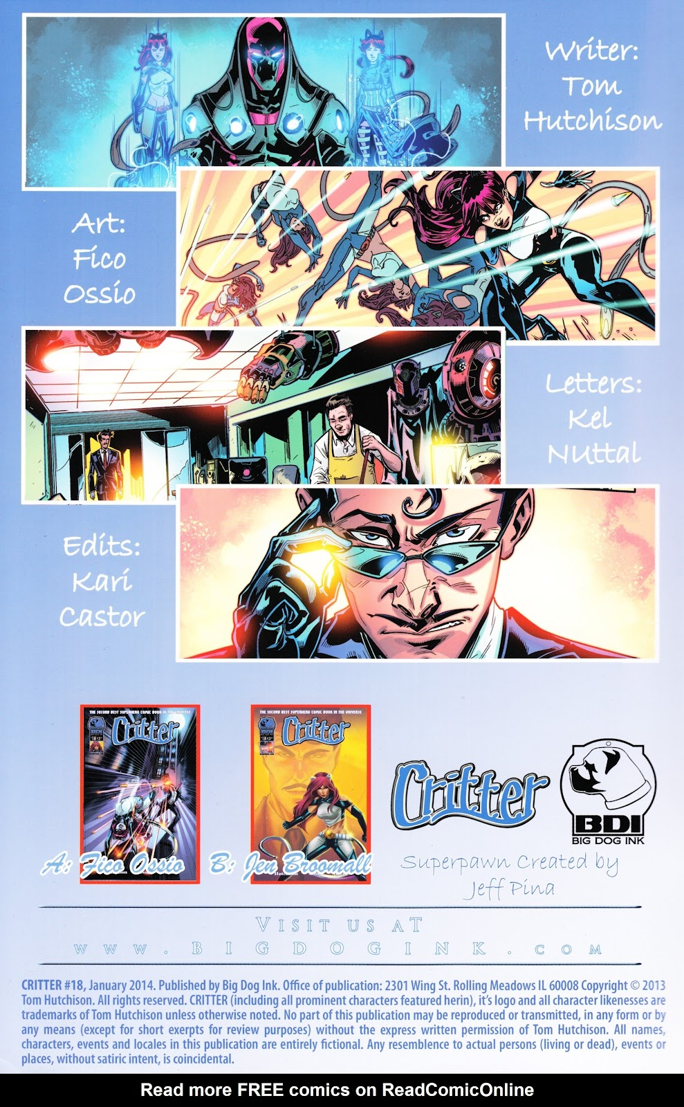 Read online Critter (2012) comic -  Issue #18 - 2