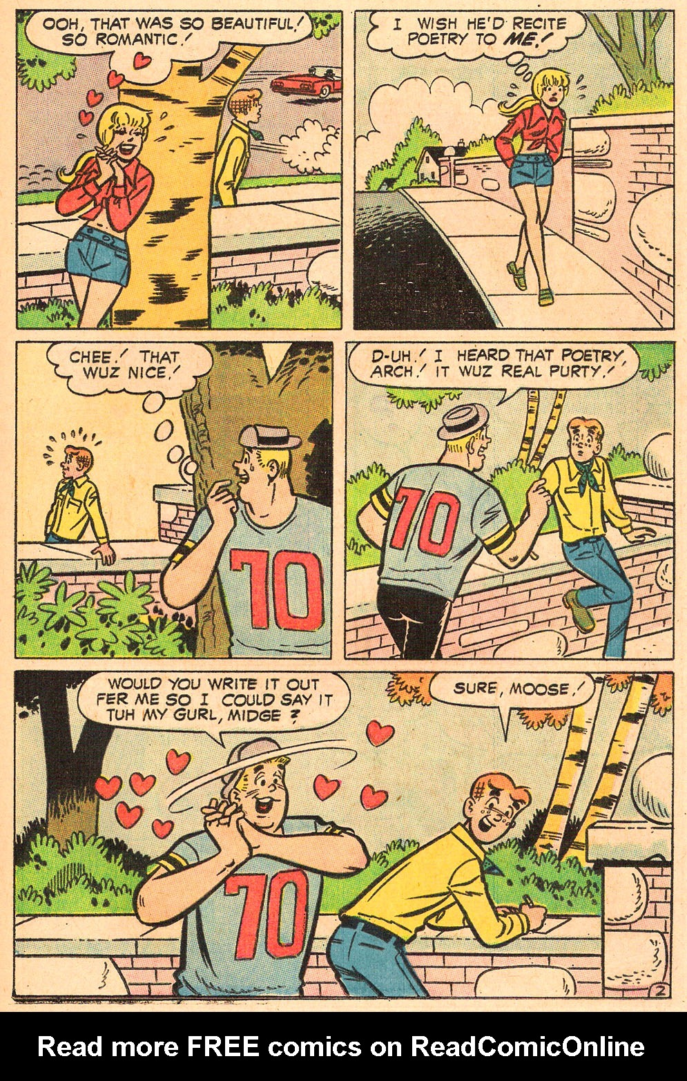 Read online Archie's Girls Betty and Veronica comic -  Issue #165 - 21