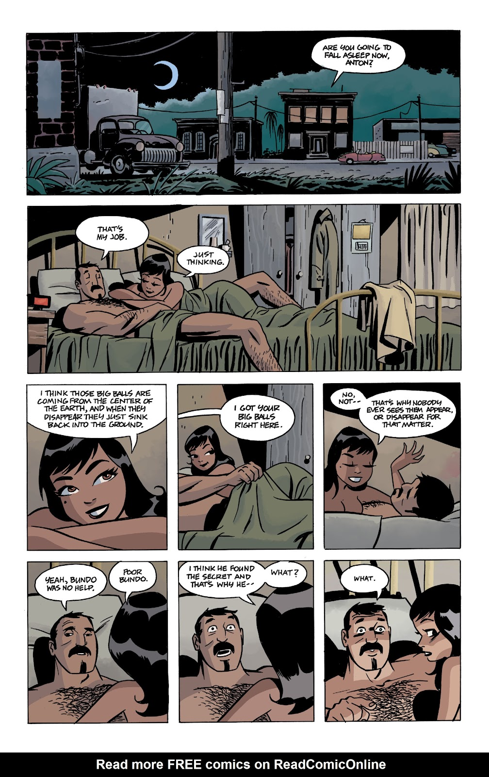 Read online The Twilight Children comic -  Issue #1 - 17