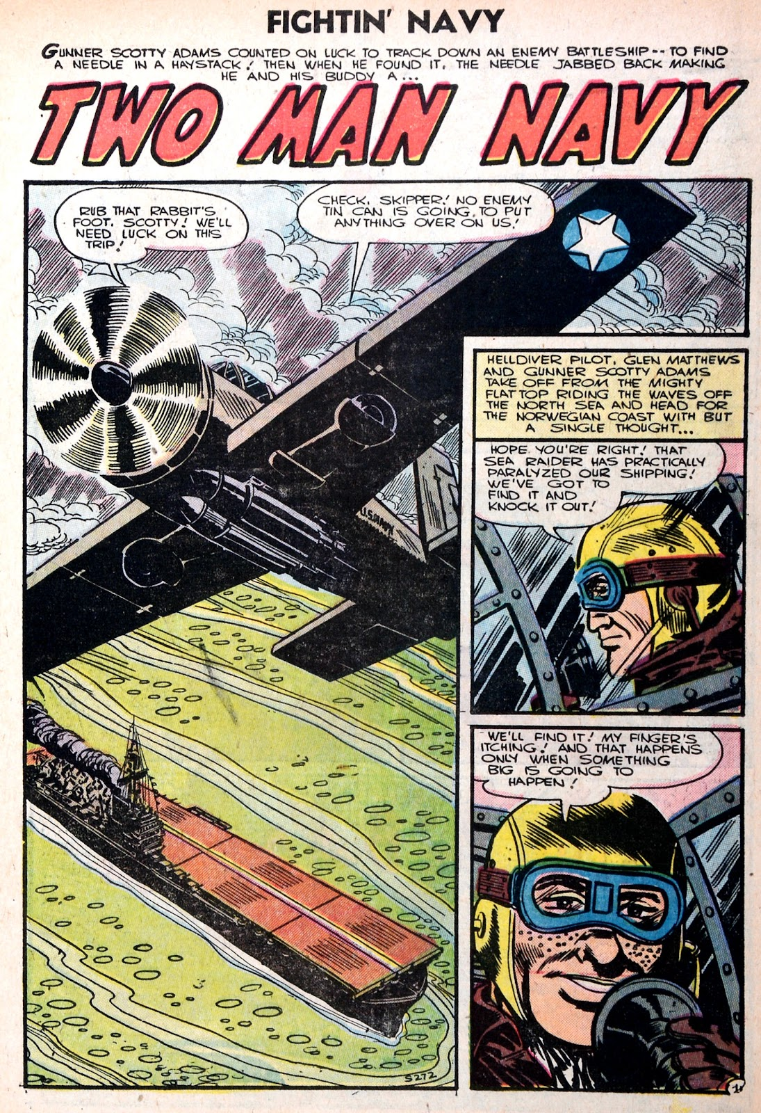 Read online Fightin' Navy comic -  Issue #75 - 3